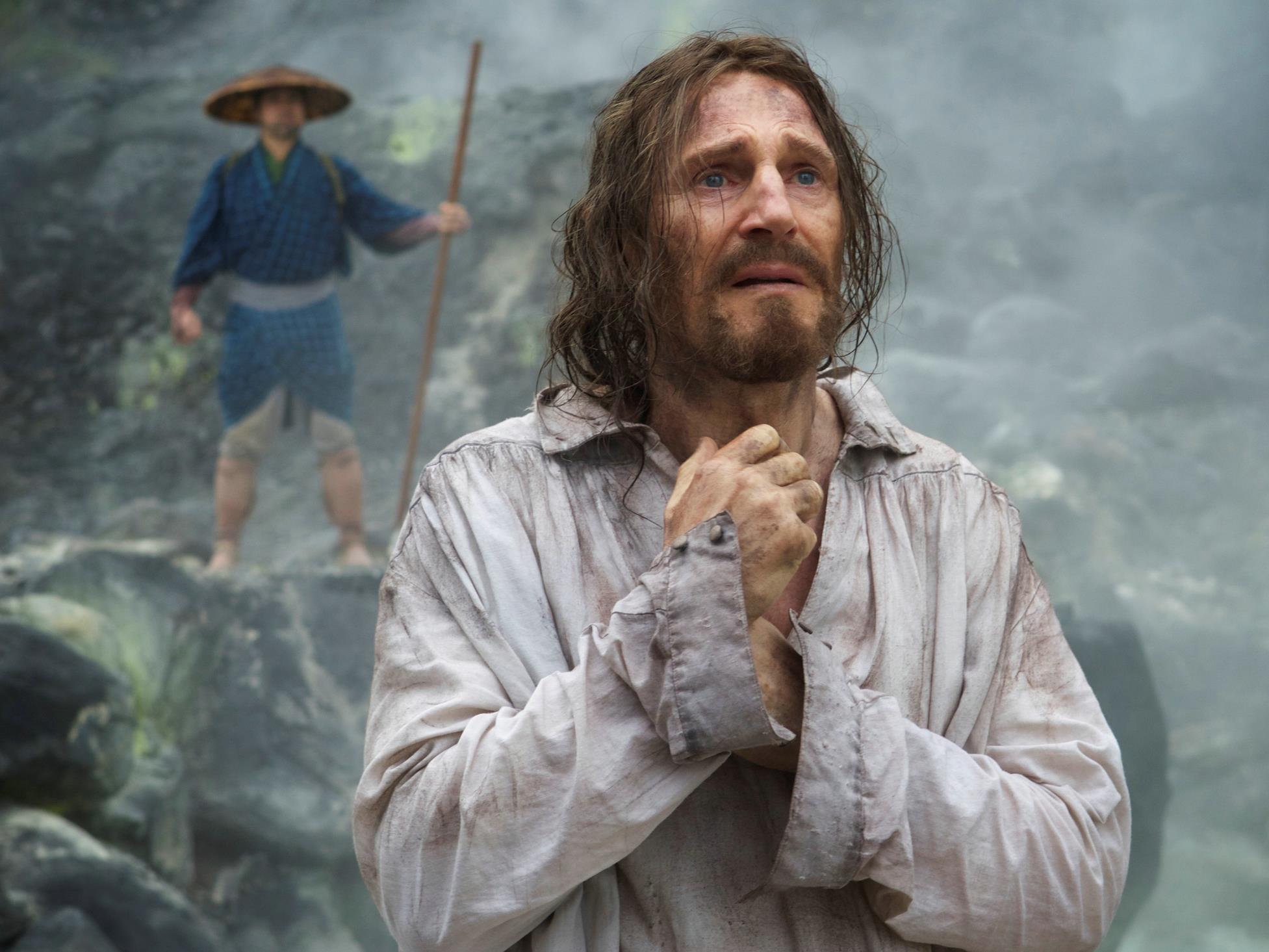 """Liam Neeson in Martin Scorseses kommenden Historienepos """"Silence"""""""