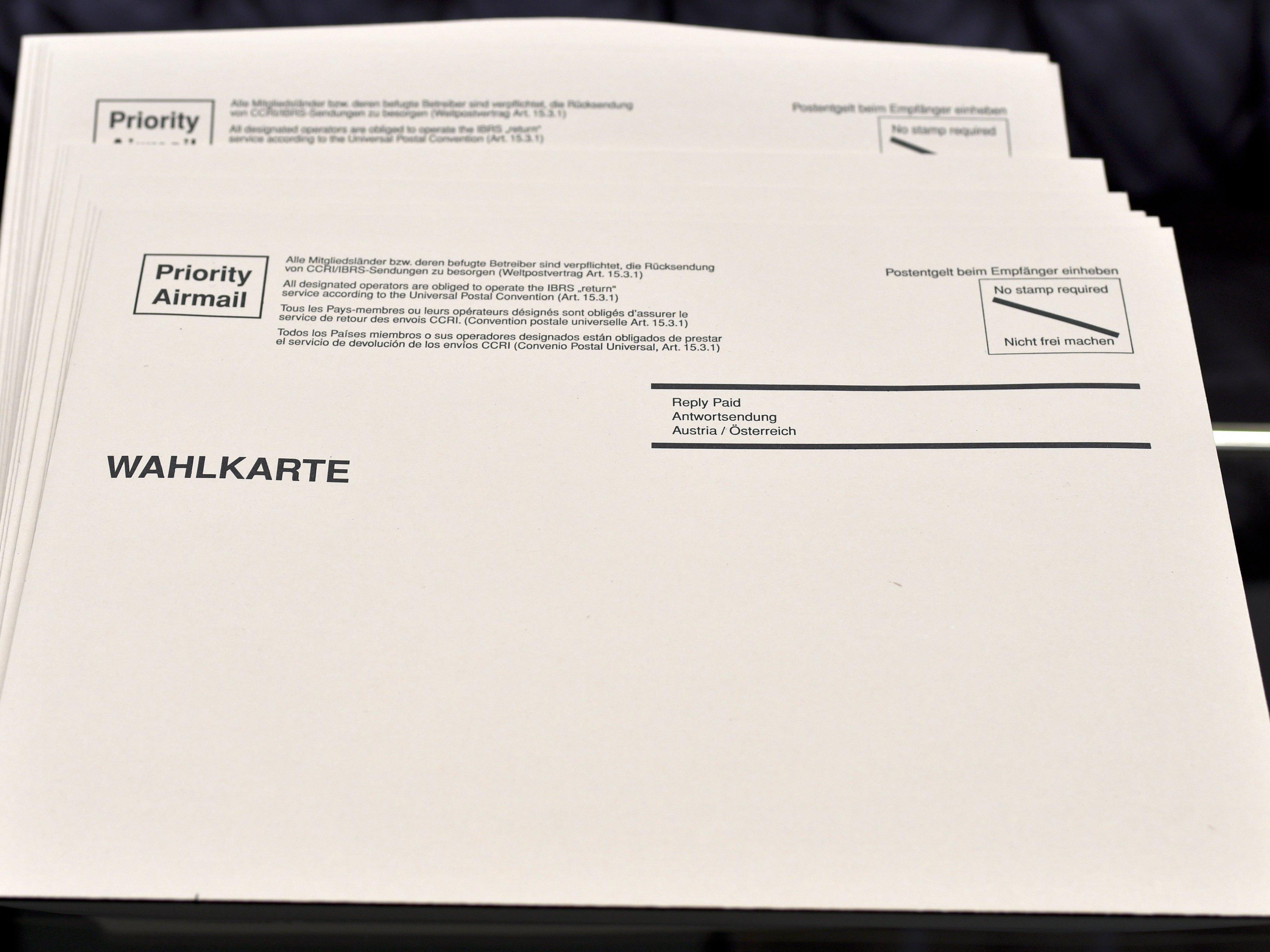 Die Stadt Linz stoppt die Aussendung von Wahlkarten