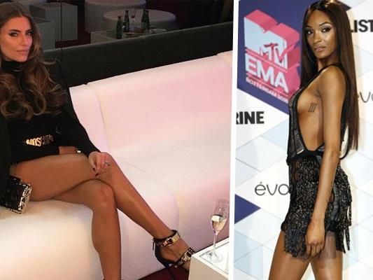 Traumhaft schöne Beine: Sophia und Jourdan.
