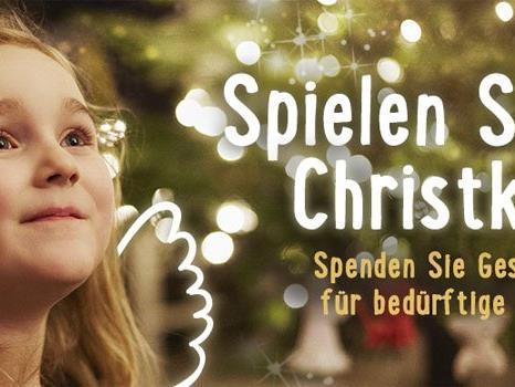 Kindern zu Weihnachten eine Freude machen.