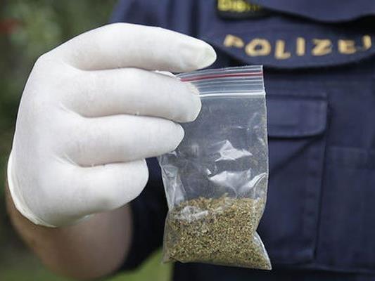 Mehrere Baggies Marihuana konnten sichergestellt werden.
