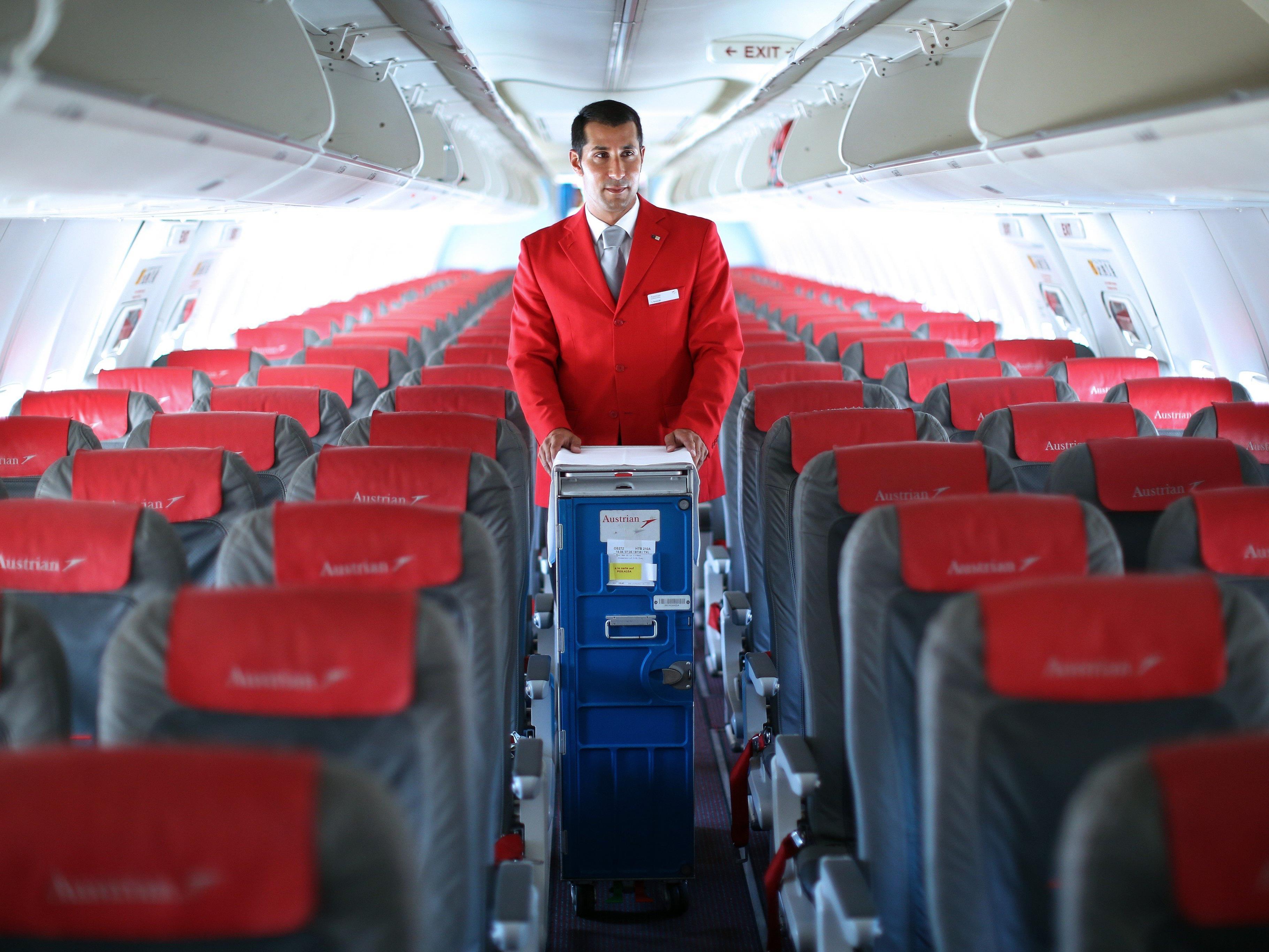 Der Ruheraum für die Crew ist vielleicht der geheimste Ort eines Passagierflugzeugs.