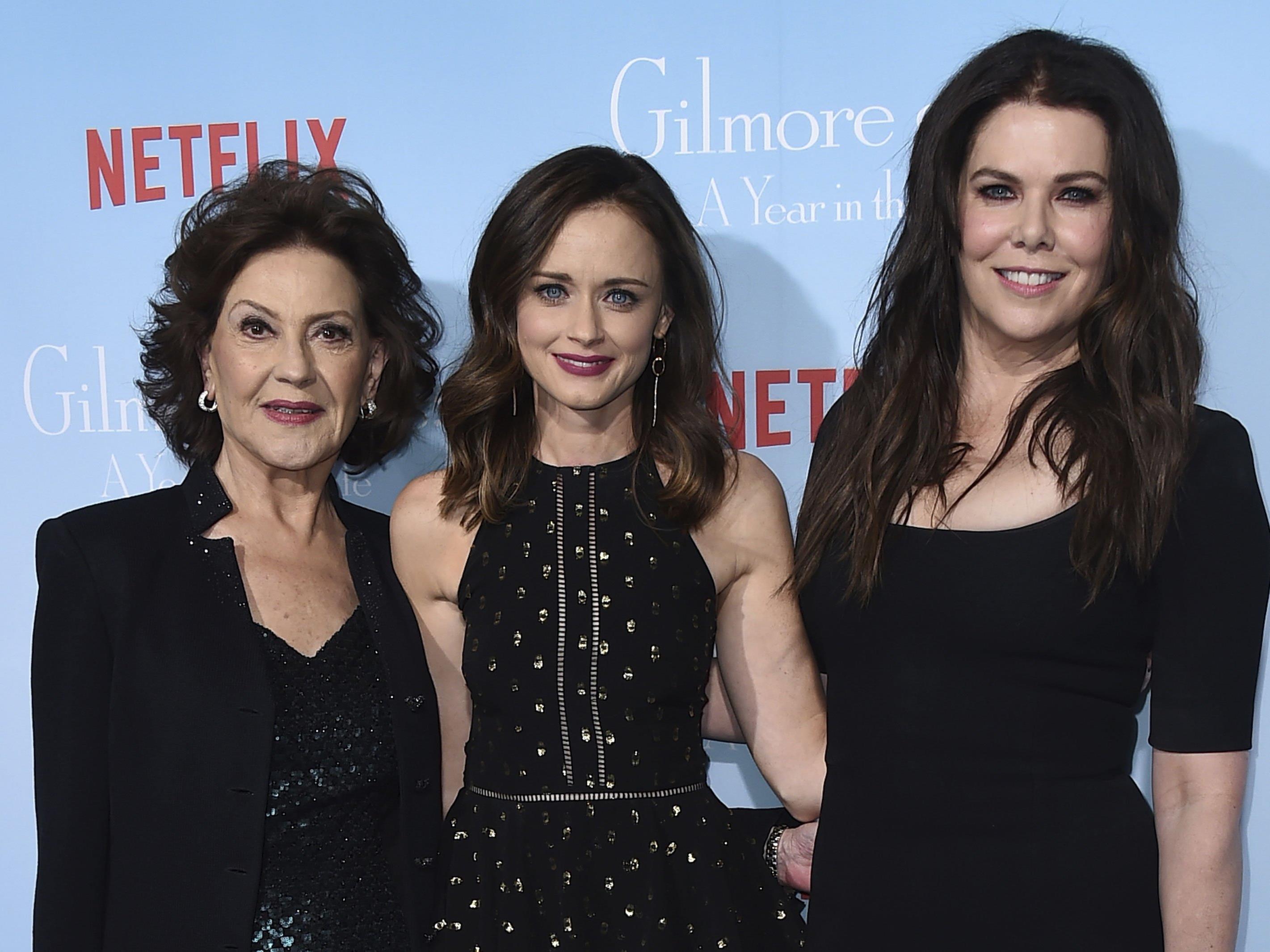 Die Gimore Girls sind wieder da: Kelly Bishop, Alexis Bledel und Lauren Graham bei der Premiere in L.A.