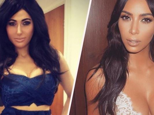 Diese Britin will aussehen wie Kim Kardashian - und verschuldet sich damit hoch.