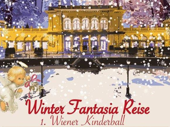 """Der Wiener Kinderball """"Winter-Fantasia-Reise"""" l findet im Kursalon Hübner statt"""