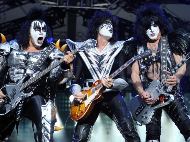 Kiss kommen live nach Wien.