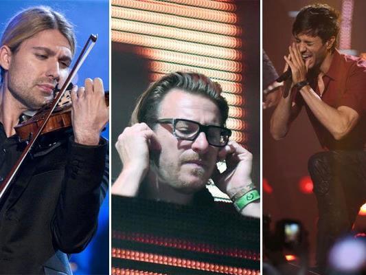 Auch im Dezember spielt die Musik in Wien.