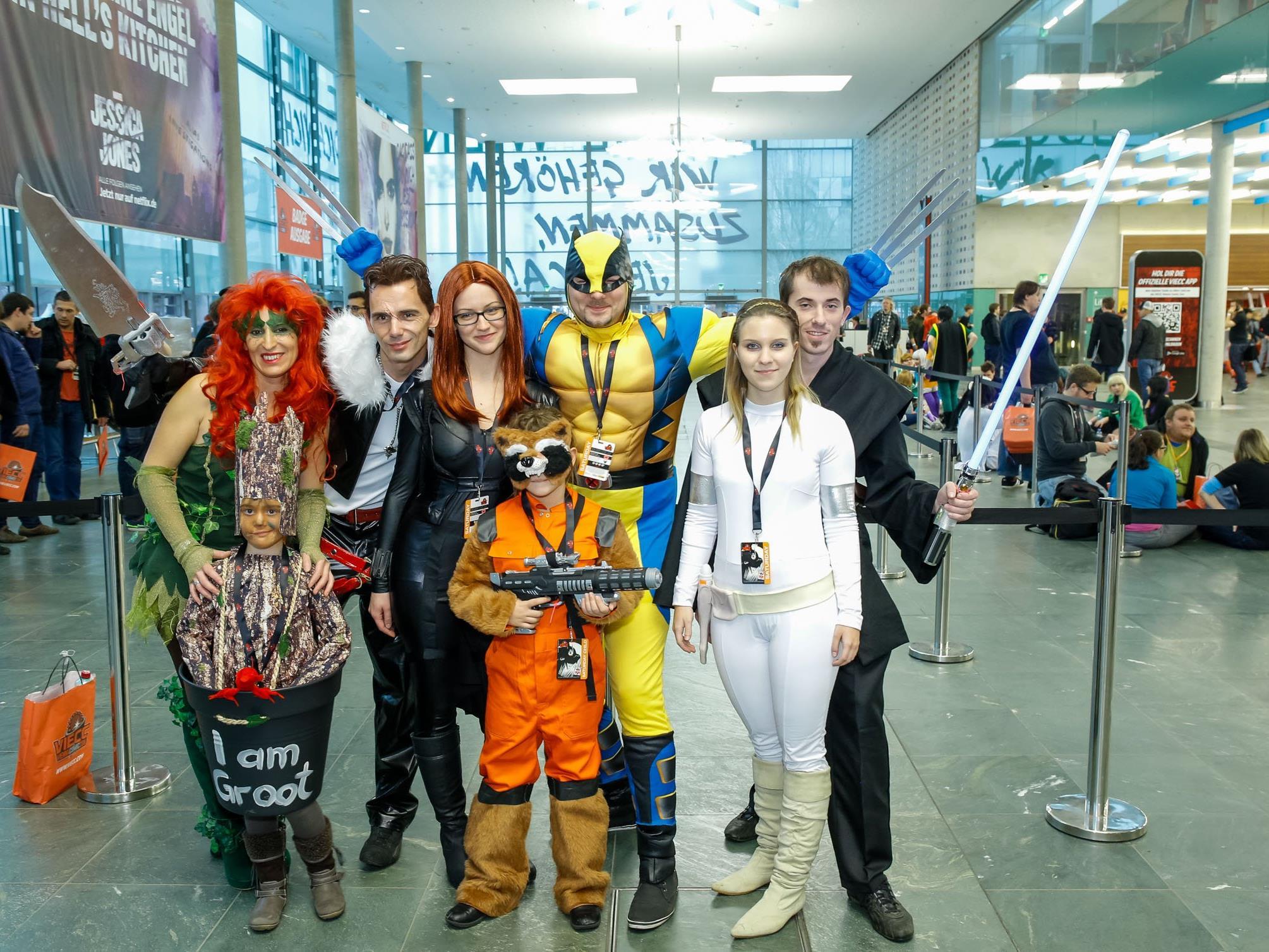 Das Programm zur VIECC Vienna Comic Con 2016.
