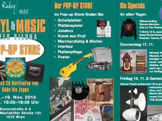 Ruby Marie Vinyl & Music Week – 14. bis 19. November.