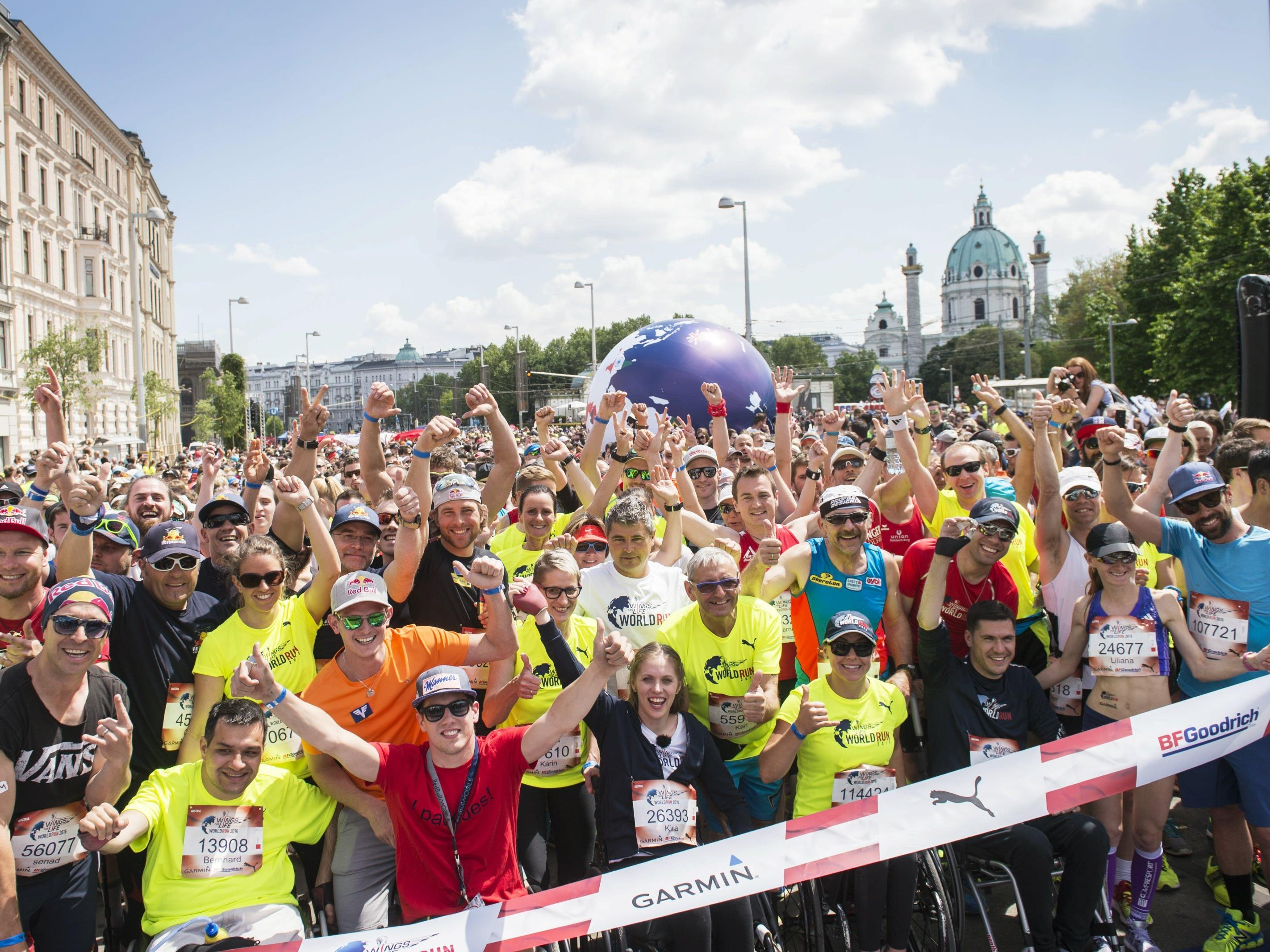 Der vierte Wings for Life World Run findet am 7. Mai 2017 statt.
