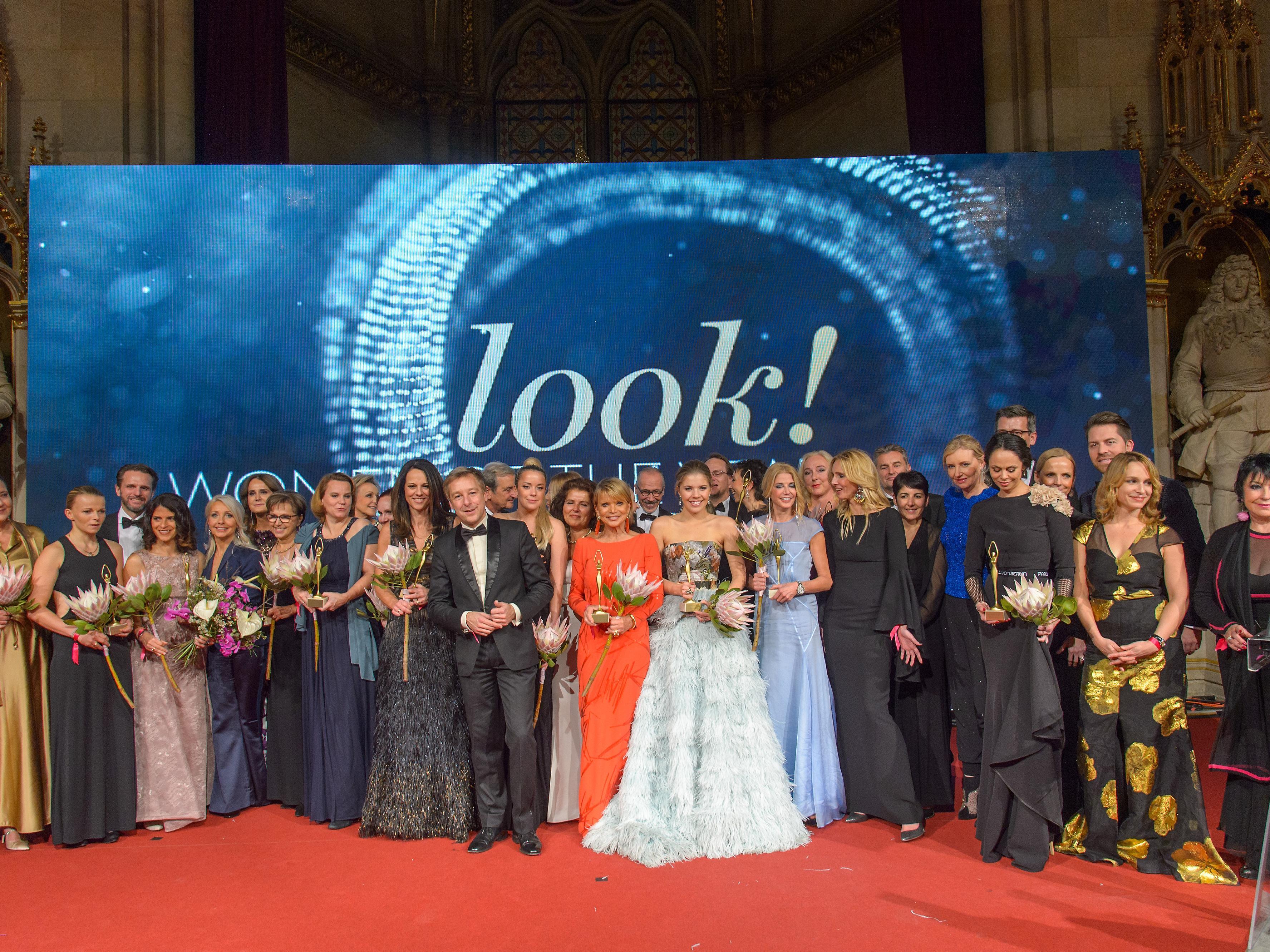 Bei der Verleihung im Wiener Rathaus.