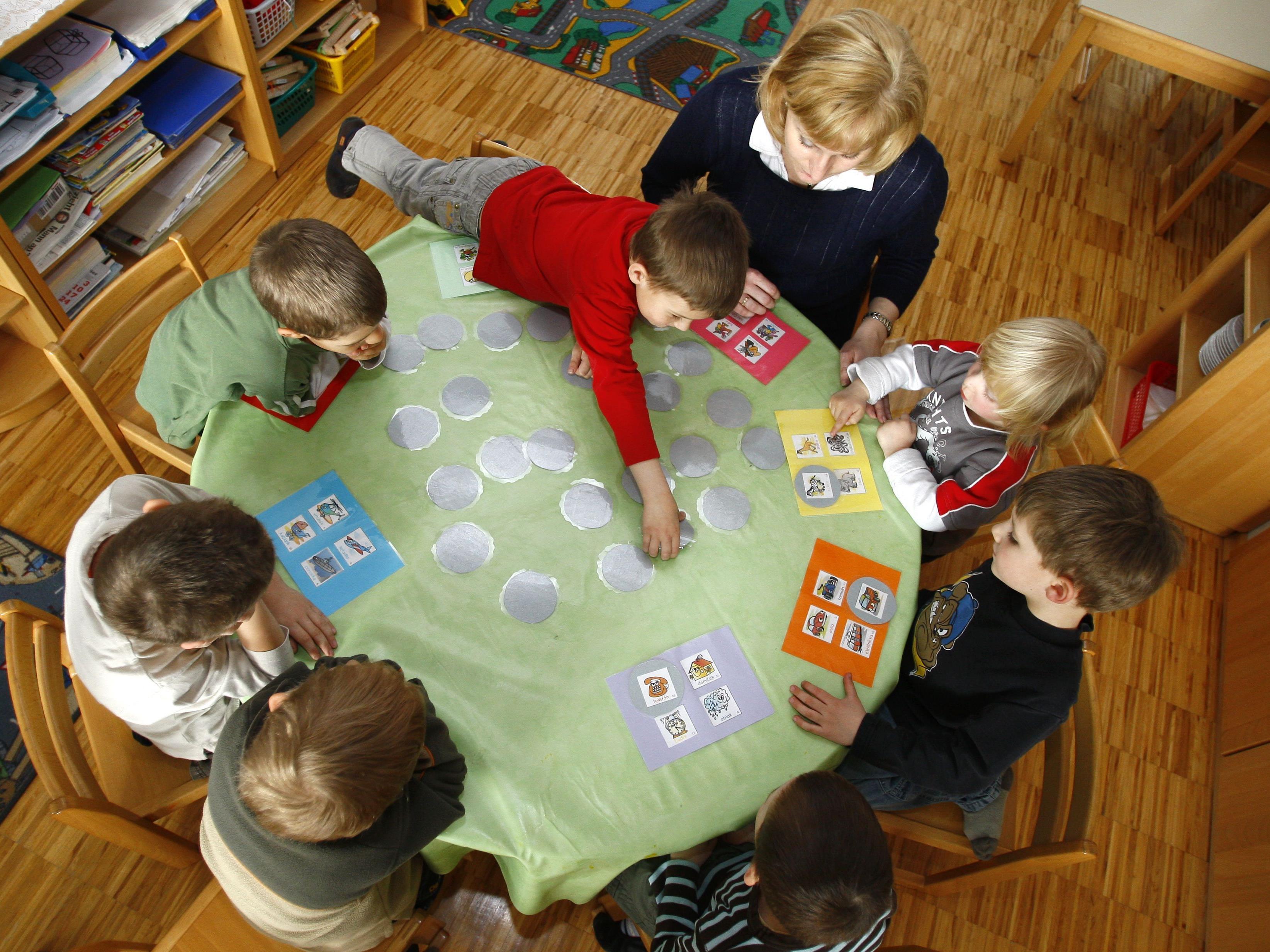 Das Kindergarten-Angebot soll in Wien 2017 weiter vergrößert werden.