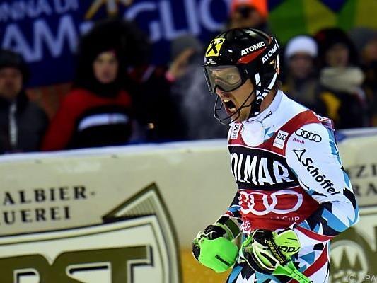 Hirscher hält bei 633 Weltcup-Punkten