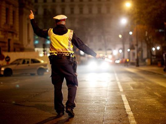 Die Polizei kontrollierte am Montag in Wien-Floridsdorf.