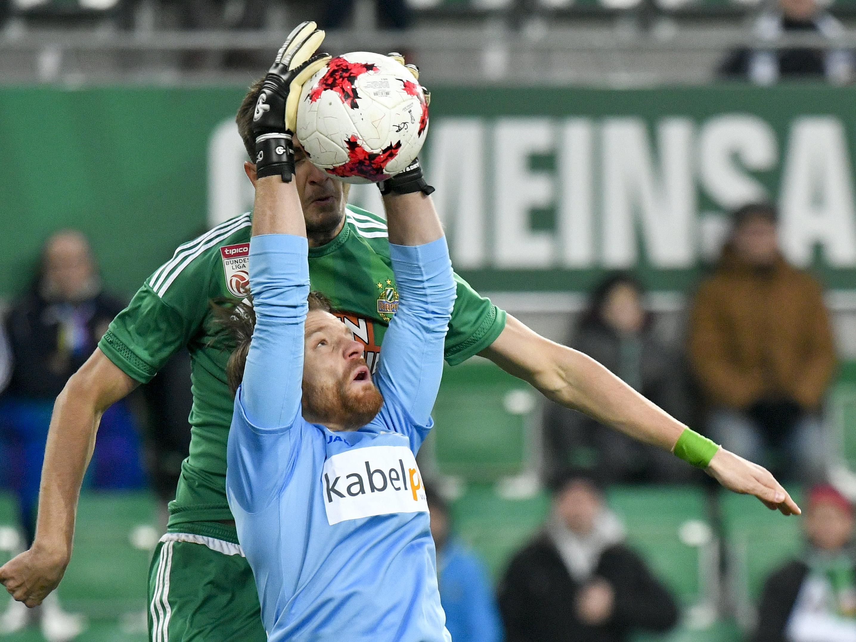 Rapid gewann mit 1:0 gegen St. Pölten.