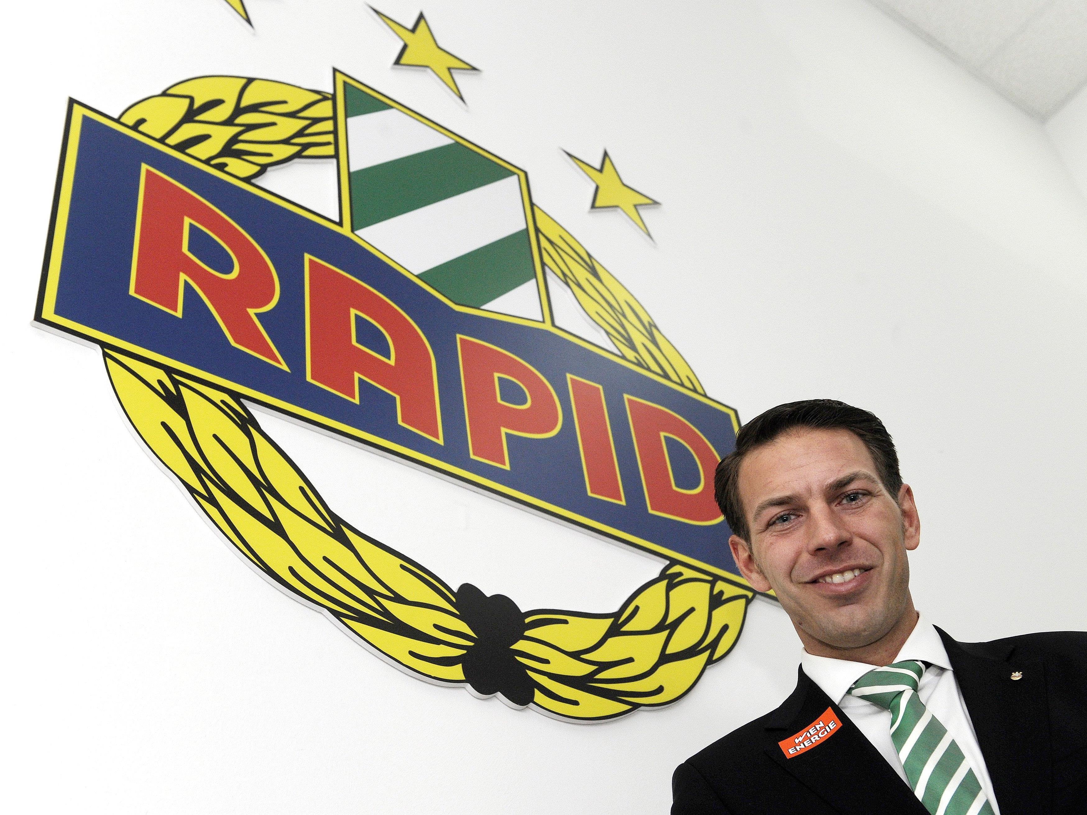Rapid-Geschäftsführer Christoph Peschek.
