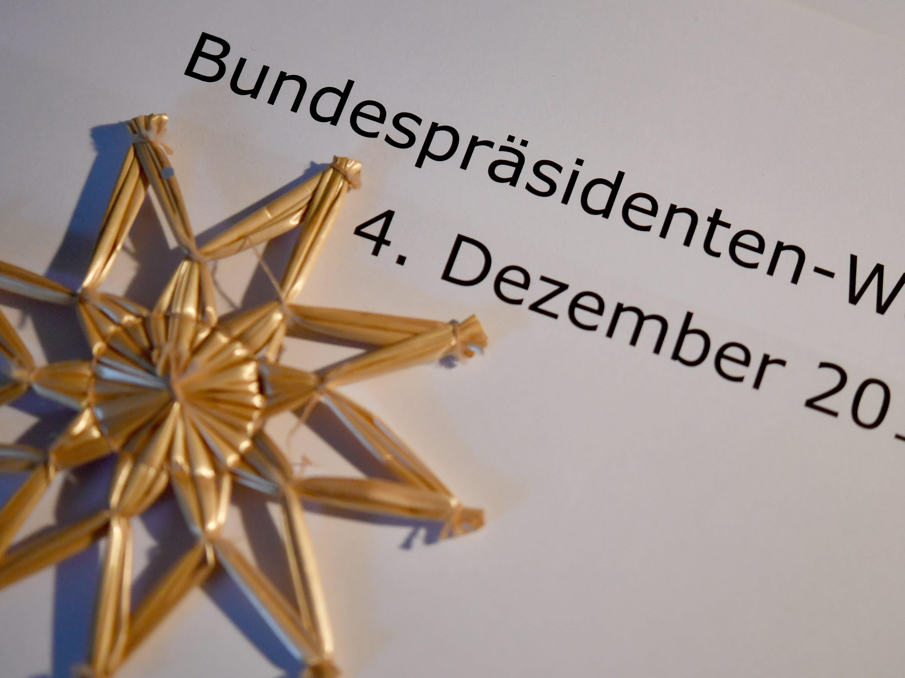 Bundespräsidentenwahl 2016: Die aktuelle Hochrechnung von der Stichwahl im Dezember.