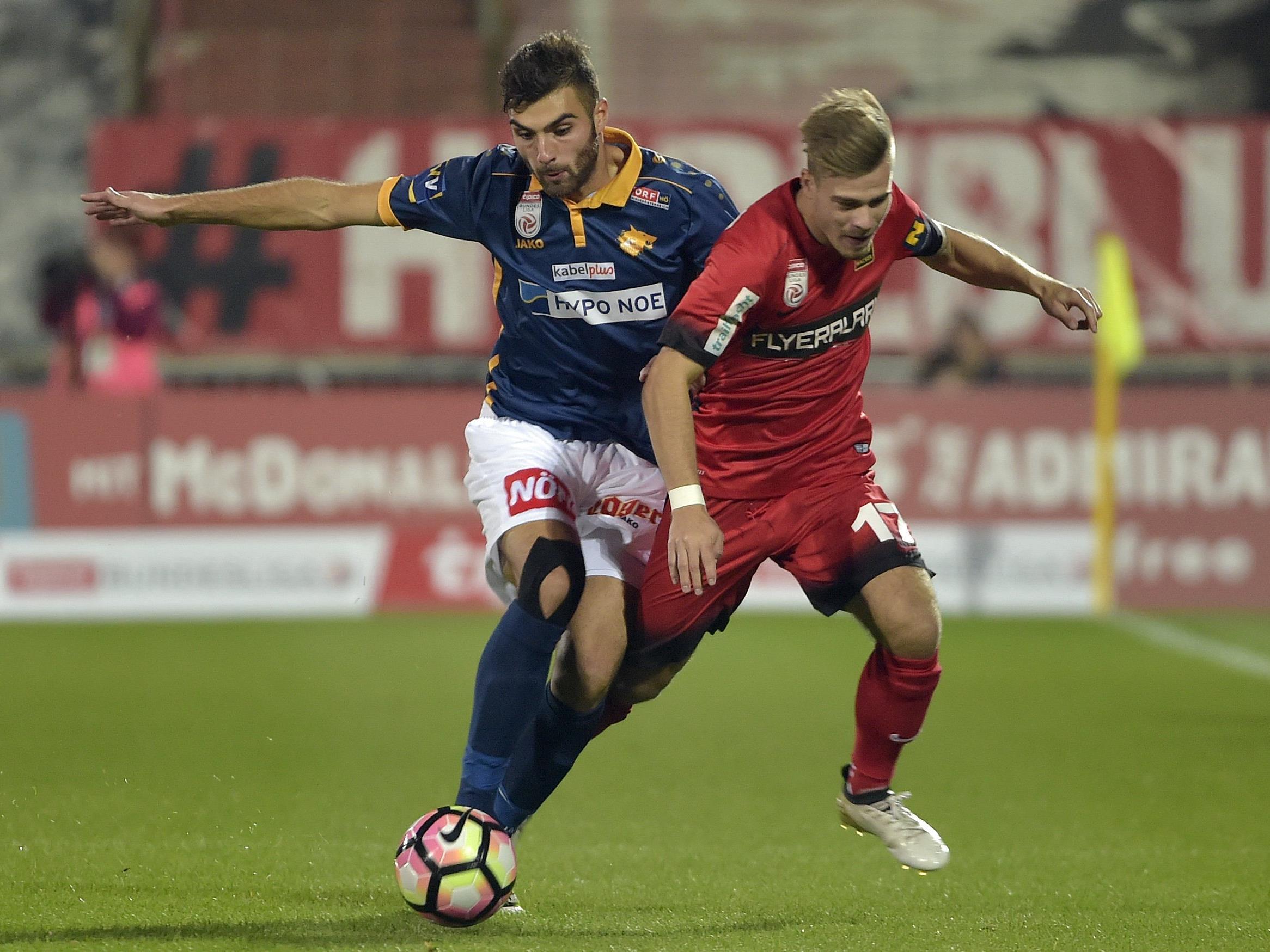 LIVE-Ticker zum Spiel SKN St. Pölten gegen FC Admira Wacker Mödling ab 18.30 Uhr.