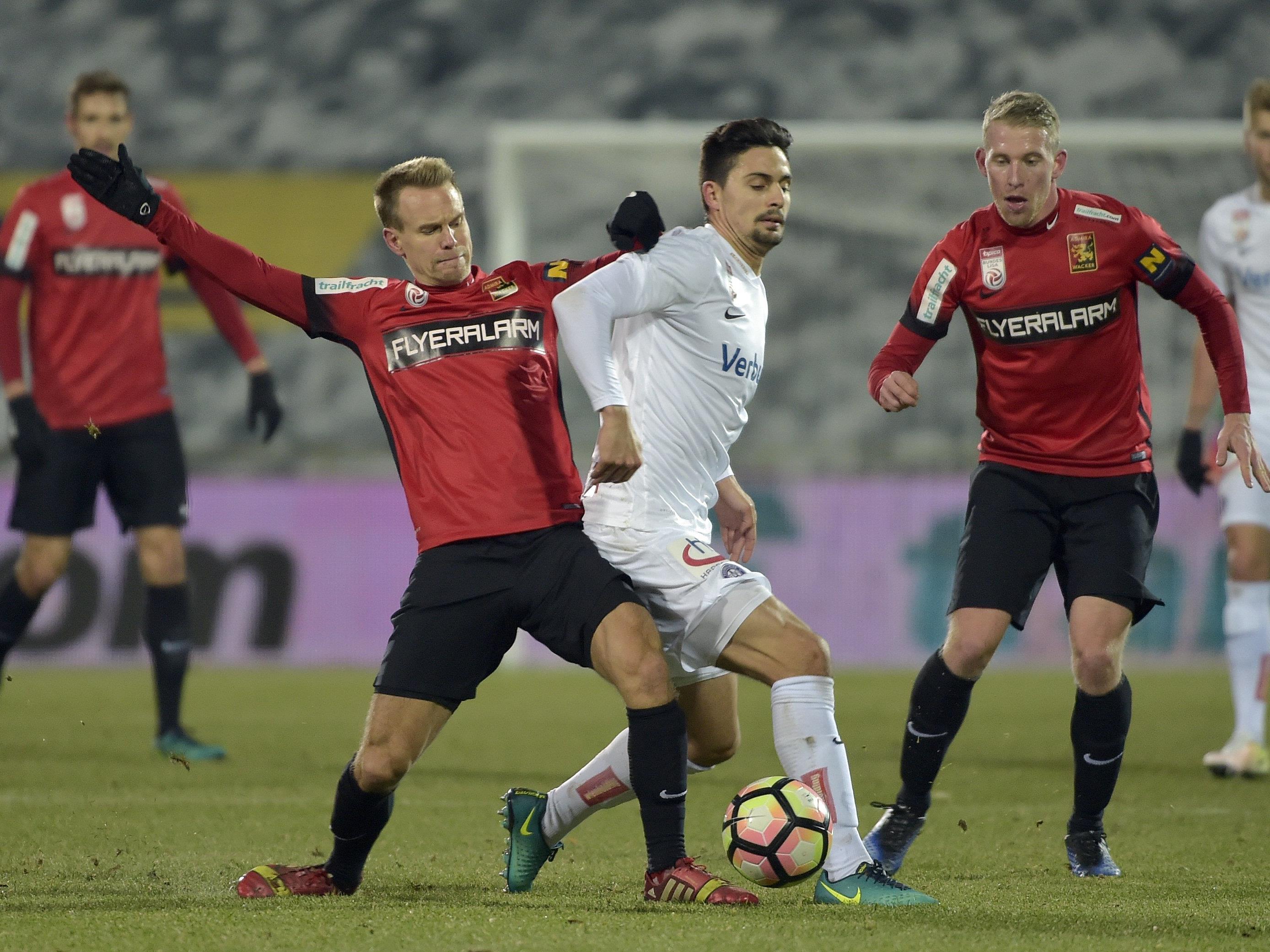 Die Wiener Austria siegte mit 2:0 gegen die Admira.