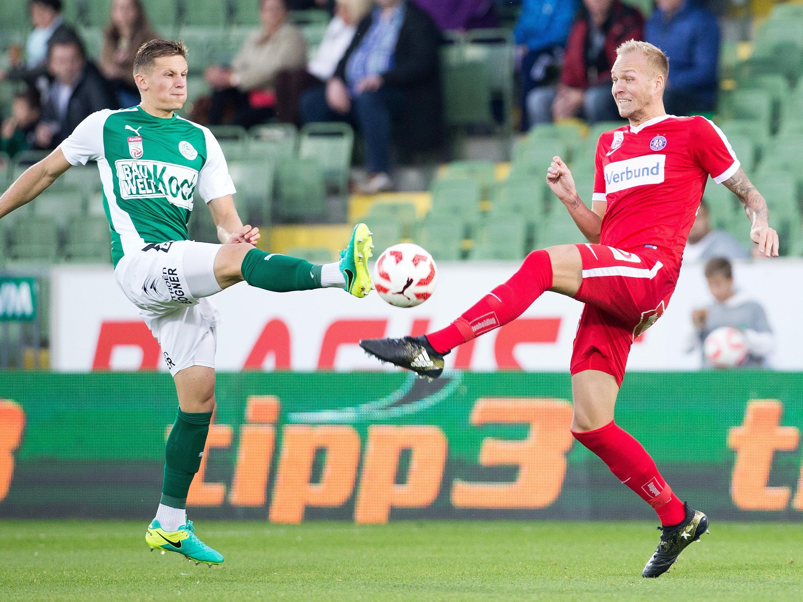 LIVE.Ticker zum Spiel FK Austria Wien gegen SV Mattersburg ab 18.30 Uhr.
