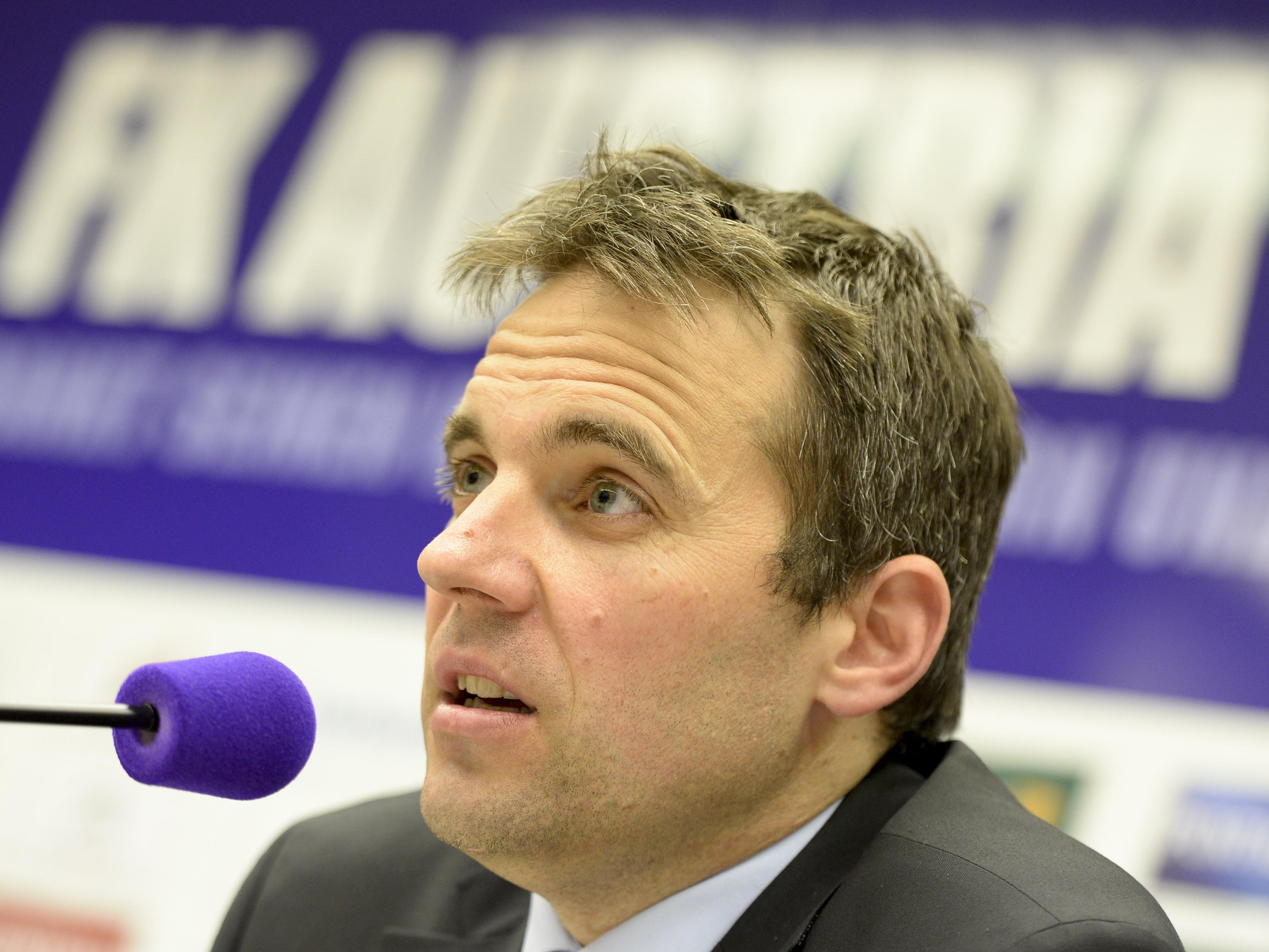Austria Wiens Finanzvorstand Markus Kraetschmer.