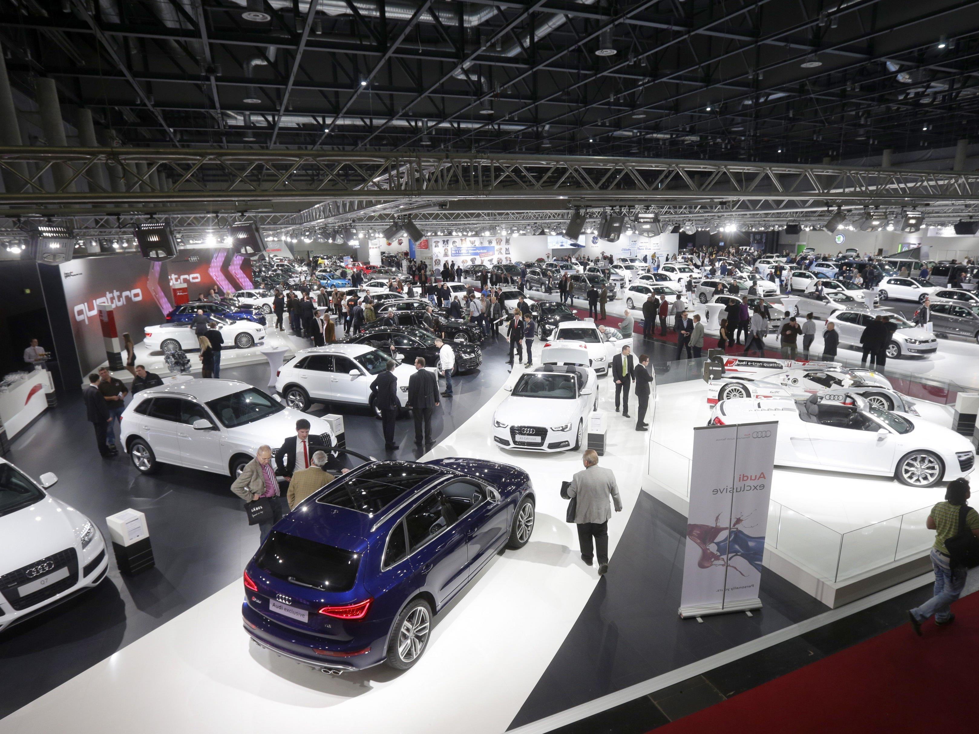 Die Vienna Autoshow findet auch im Jänner 2017 wieder statt.