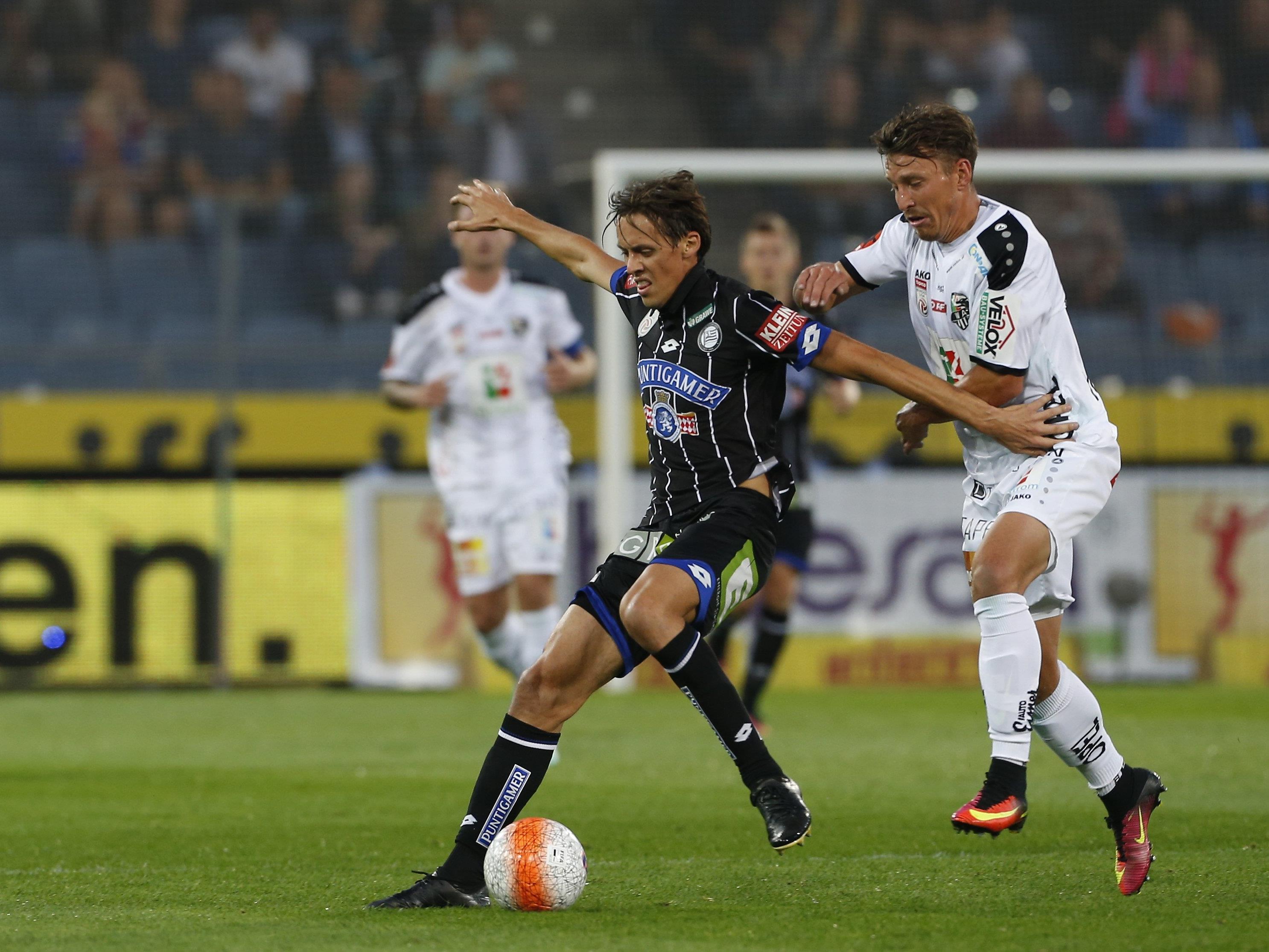 LIVE-Ticker zum Spiel WAC gegen SK Sturm Graz ab 16.30 Uhr.