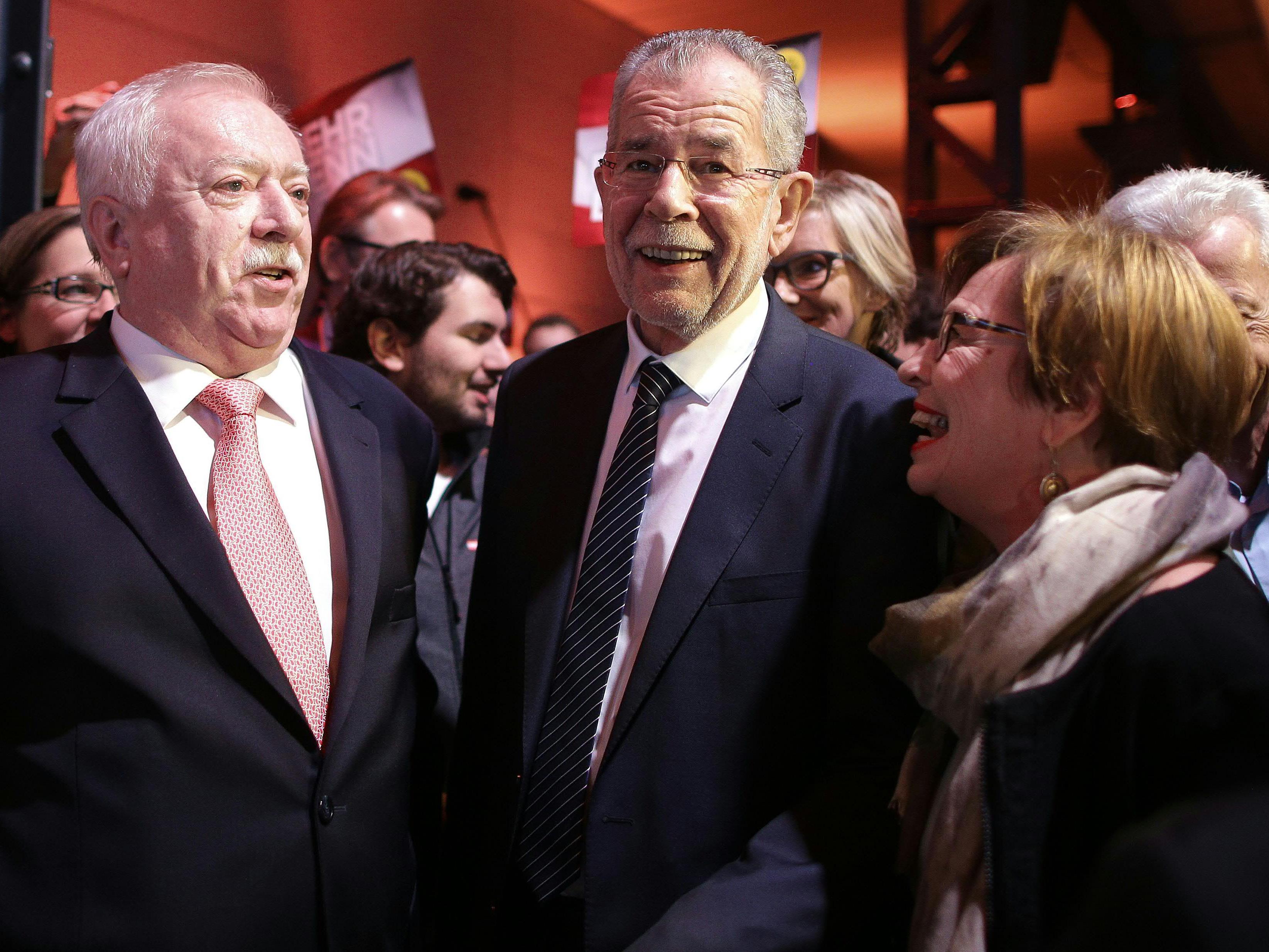 """Alexander Van der Bellen wil lder """"Präsident der Mitte"""" sein."""