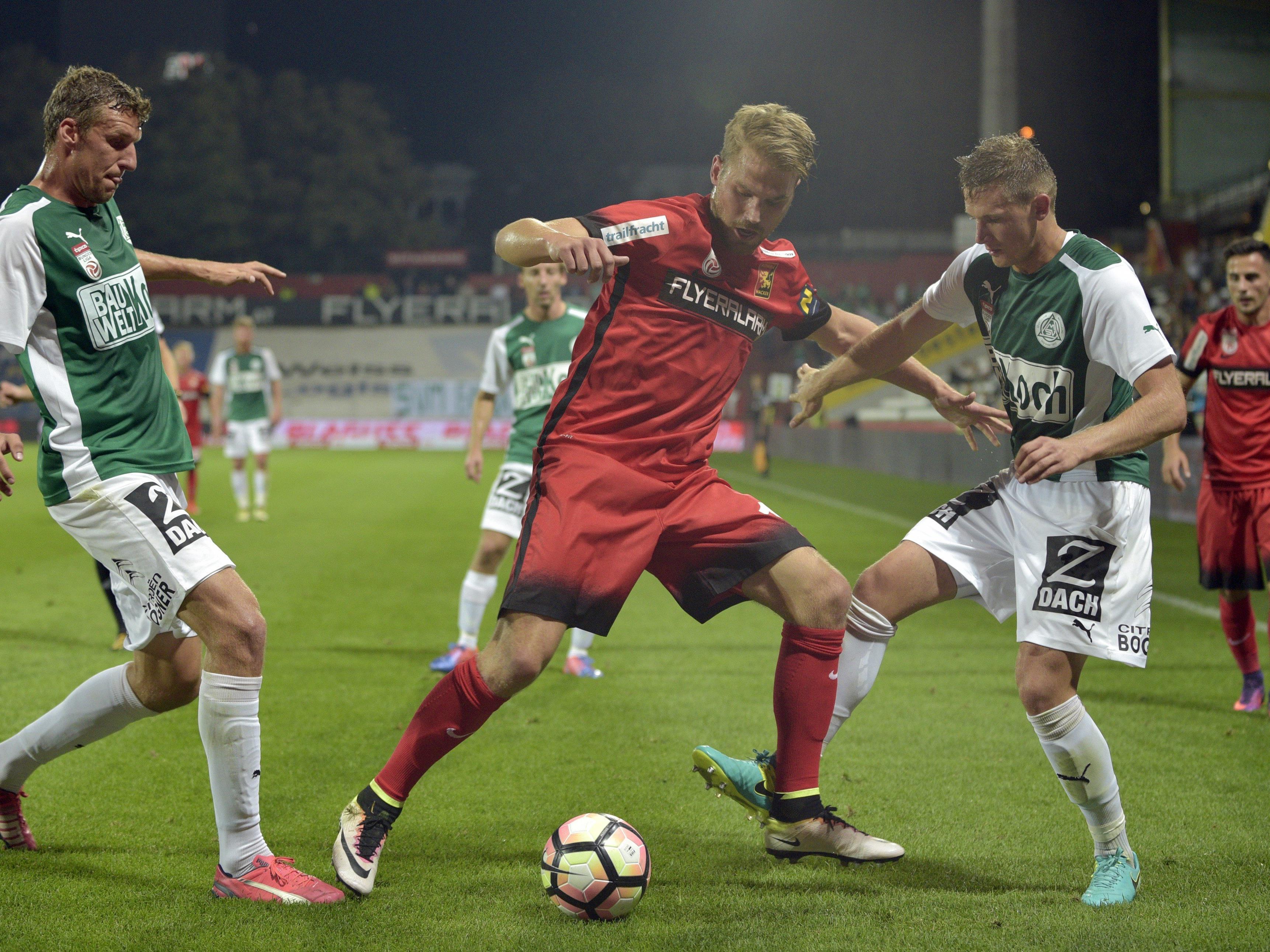 LIVE-Ticker zum Spiel SV Mattersburg gegen FC Admira Wacker ab 18.30 Uhr.