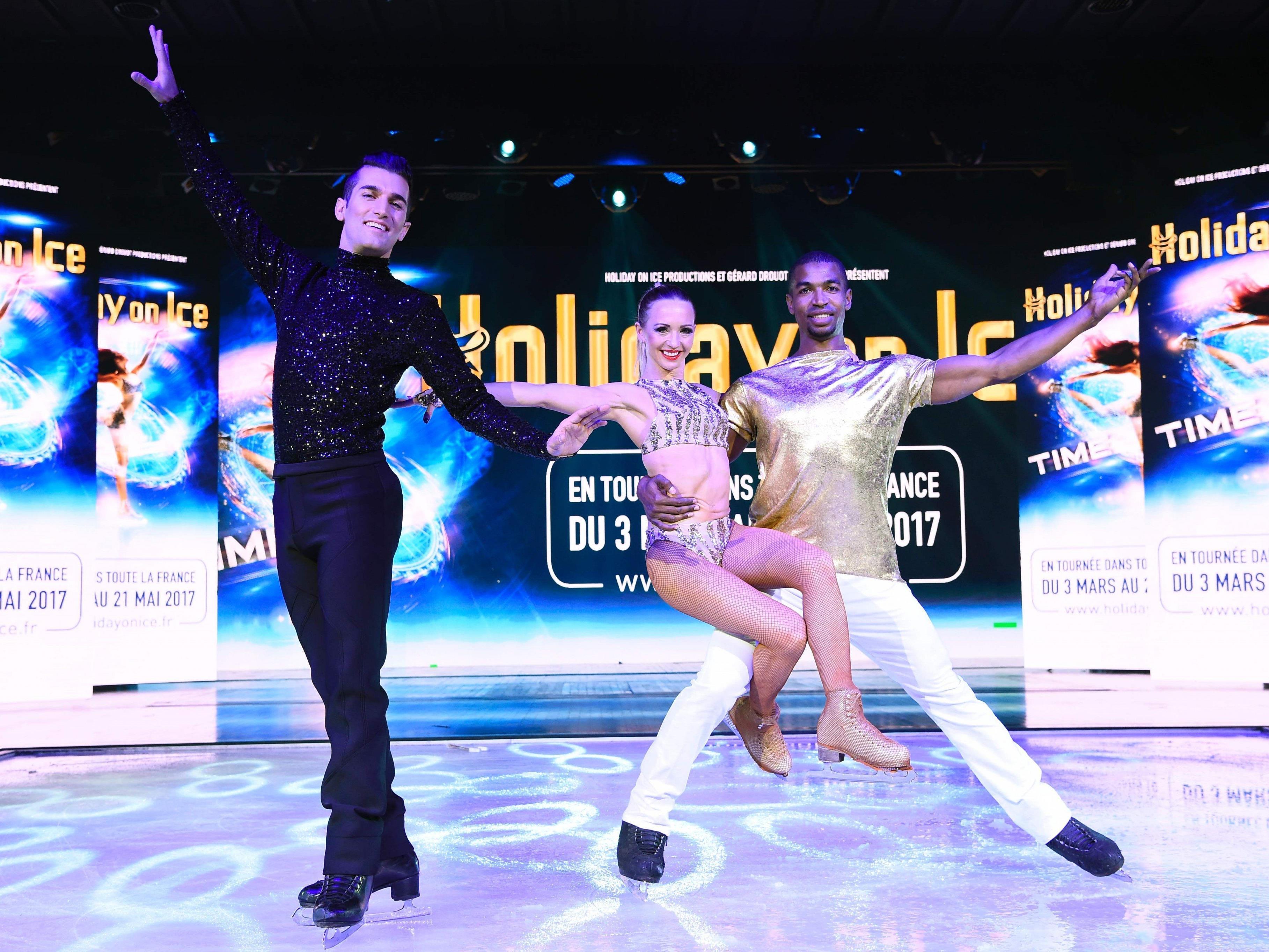"""""""Holiday on Ice"""" kommt Mitte Jänner 2017 wieder nach Wien."""