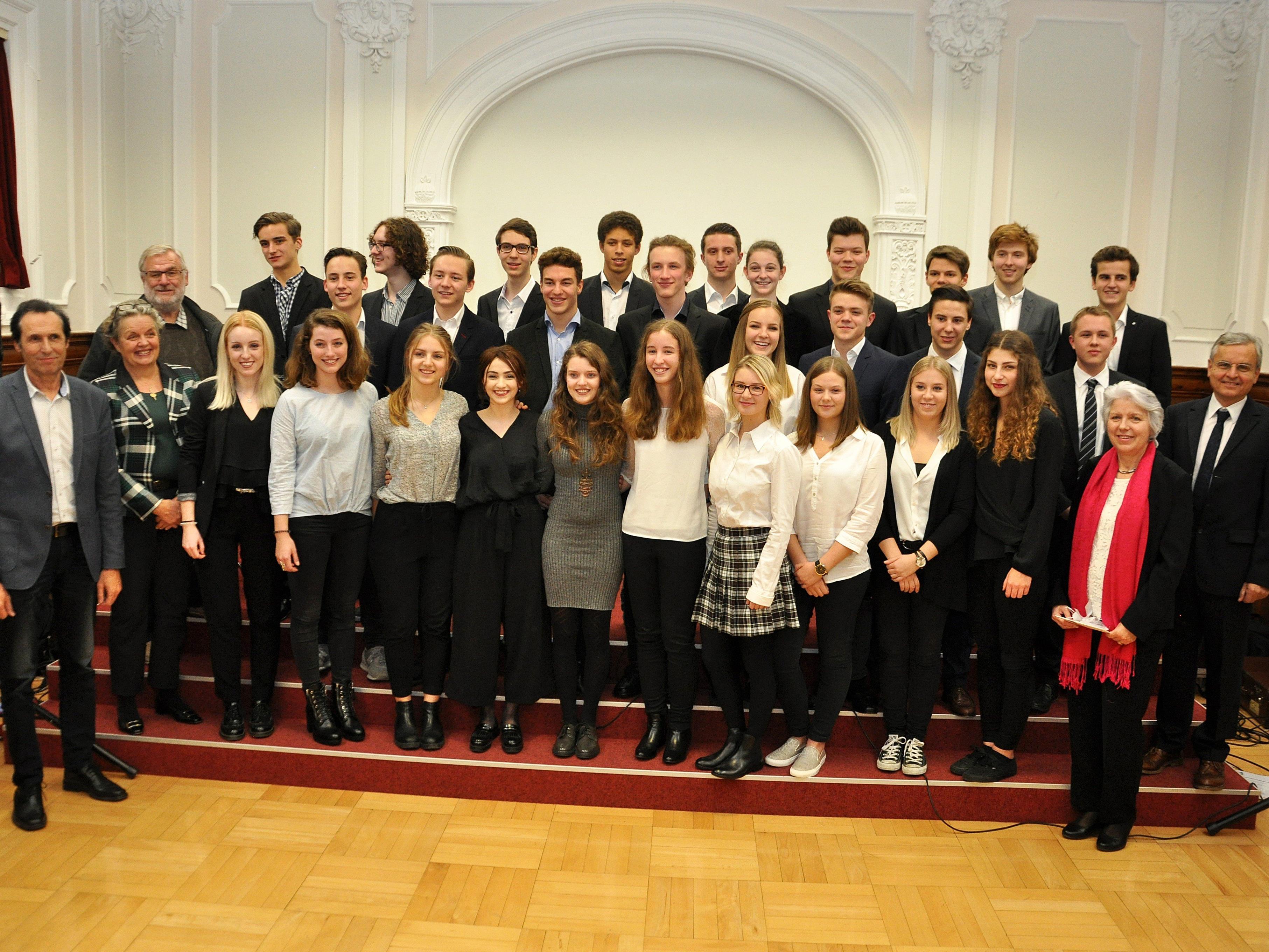 Im Jahr 2016 haben insgesamt 37 Schüler des BG Dornbirn die kommissionelle Prüfung bestanden.