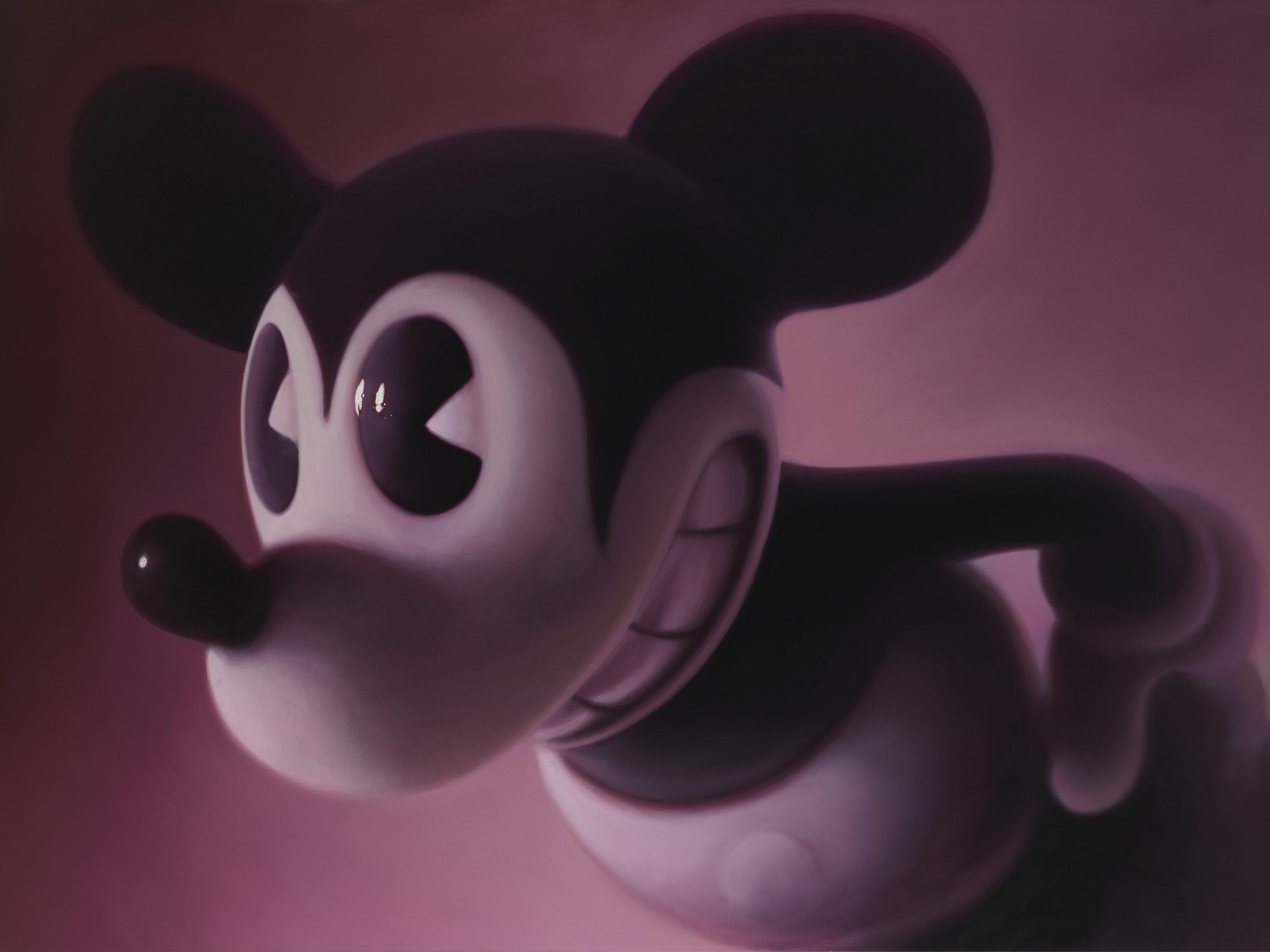 """Gottfried Helnweins """"Pink Mouse 2"""" von 2008"""