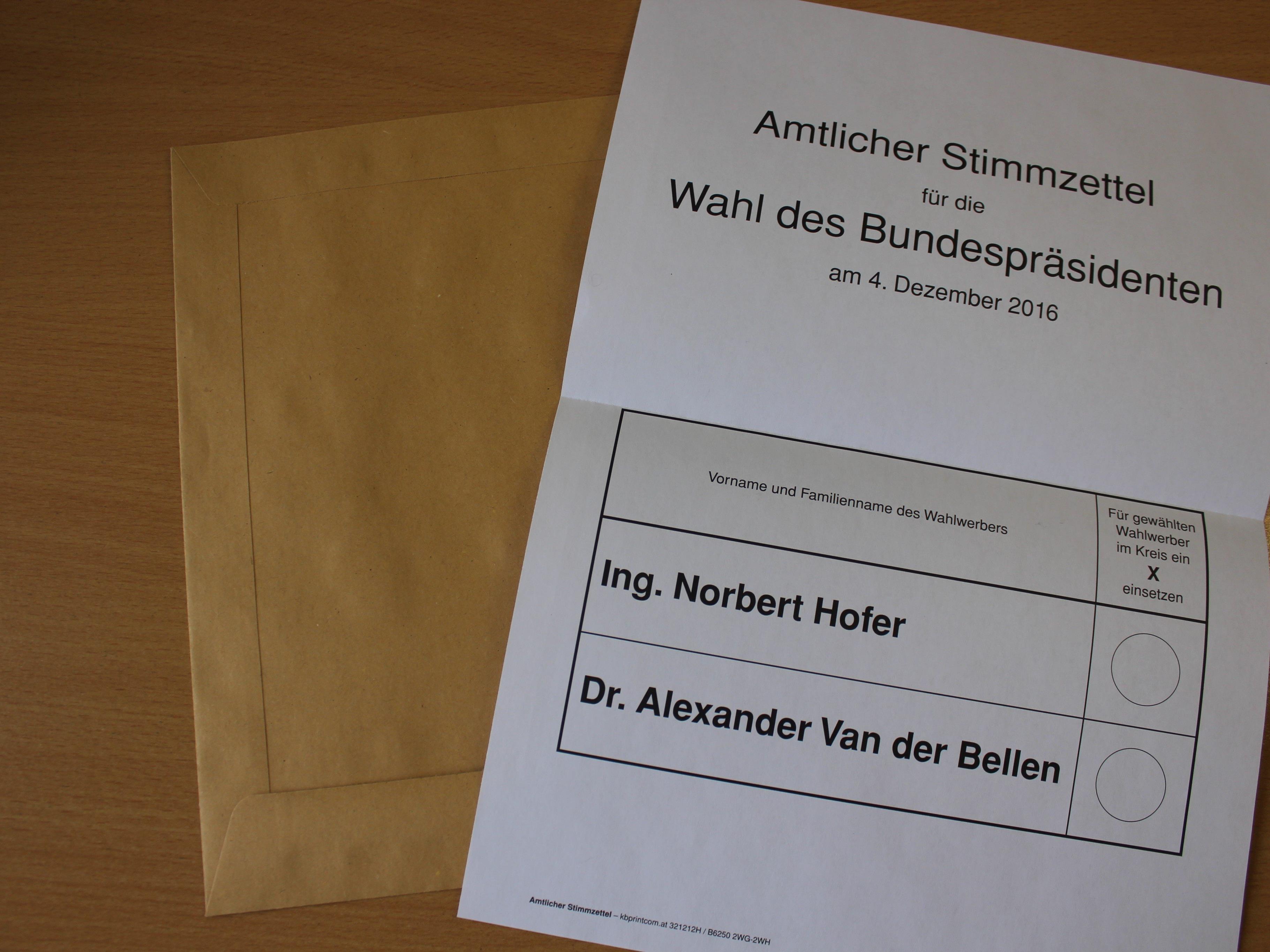 Bundespräsidentenwahl: Der nächste Versuch.