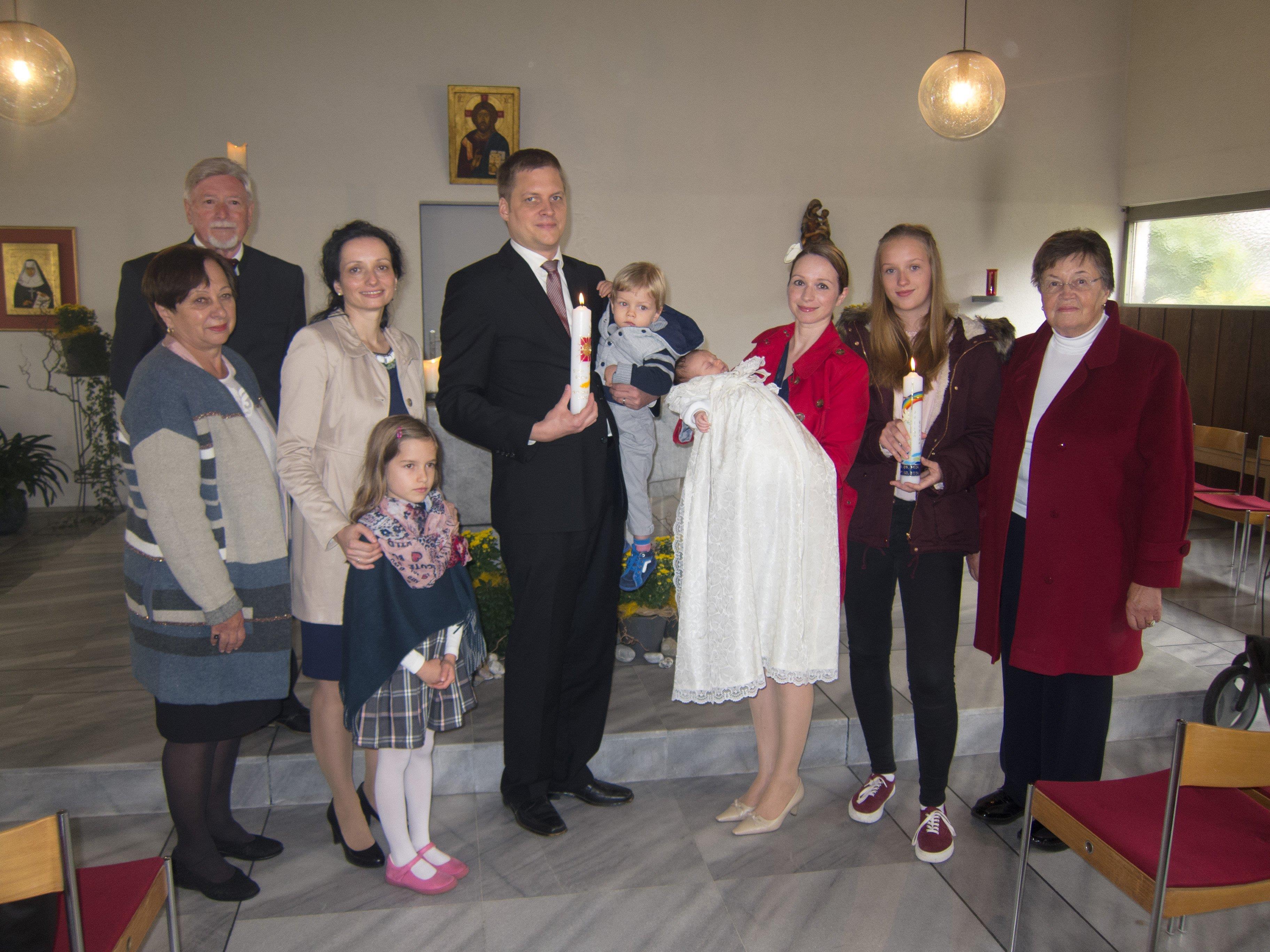 Taufe in der Katharine-Drexel-Kapelle