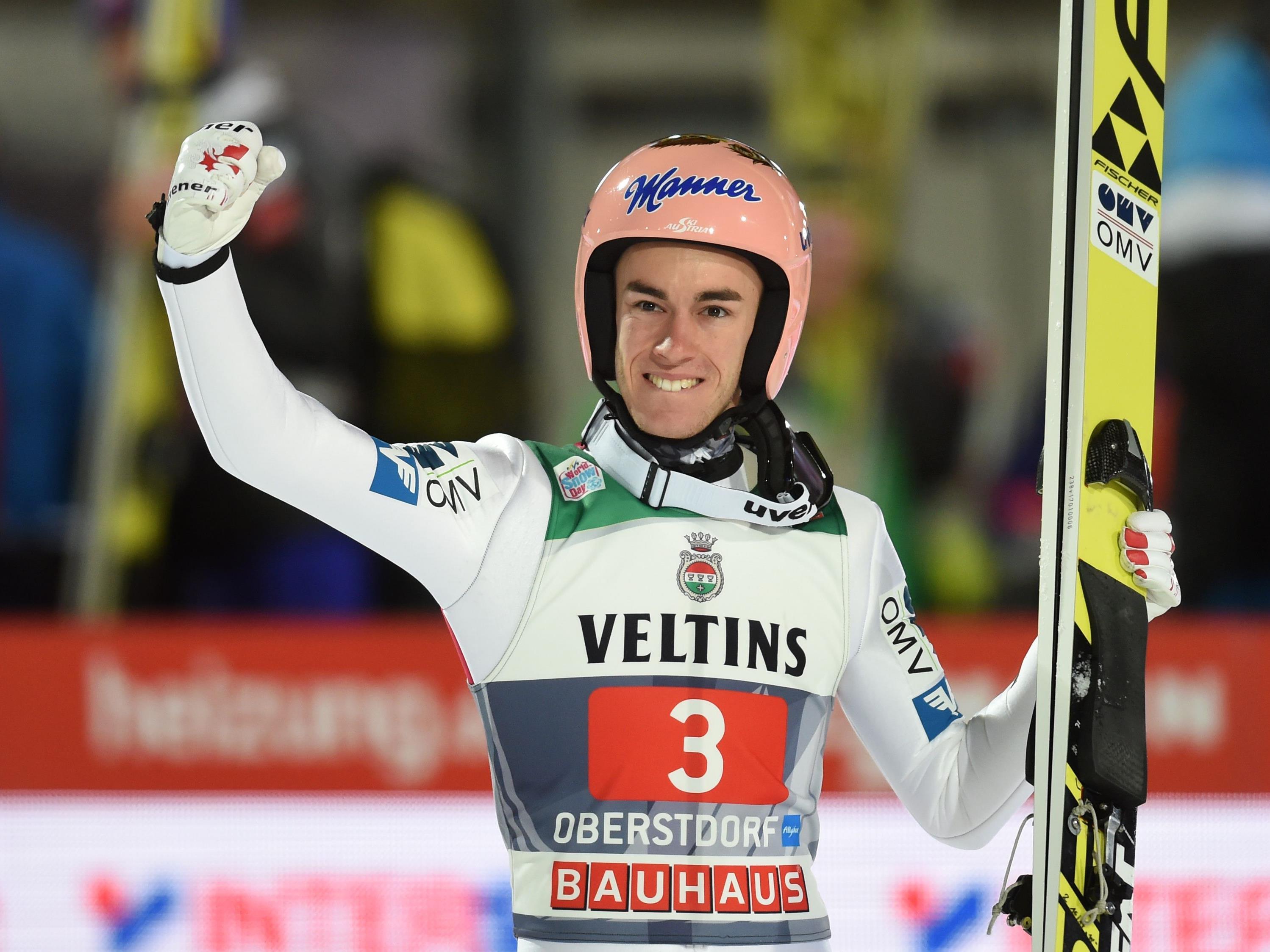 Stefan Kraft hat die erste Station der Vierschanzen-Tournee in Oberstdorf gewonnen.