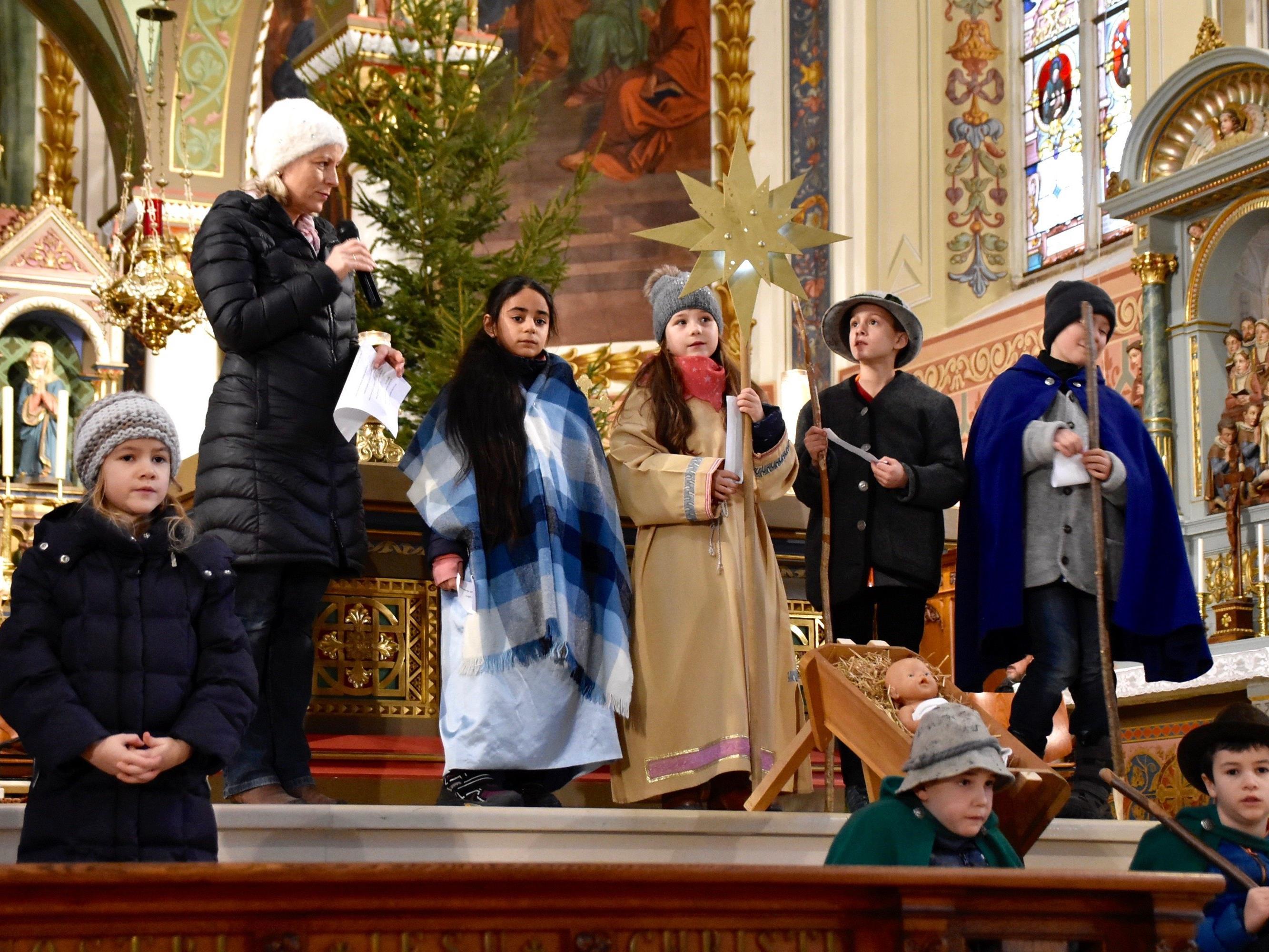 Weihnachtsgeschichte in der Pfarrkirche Schruns