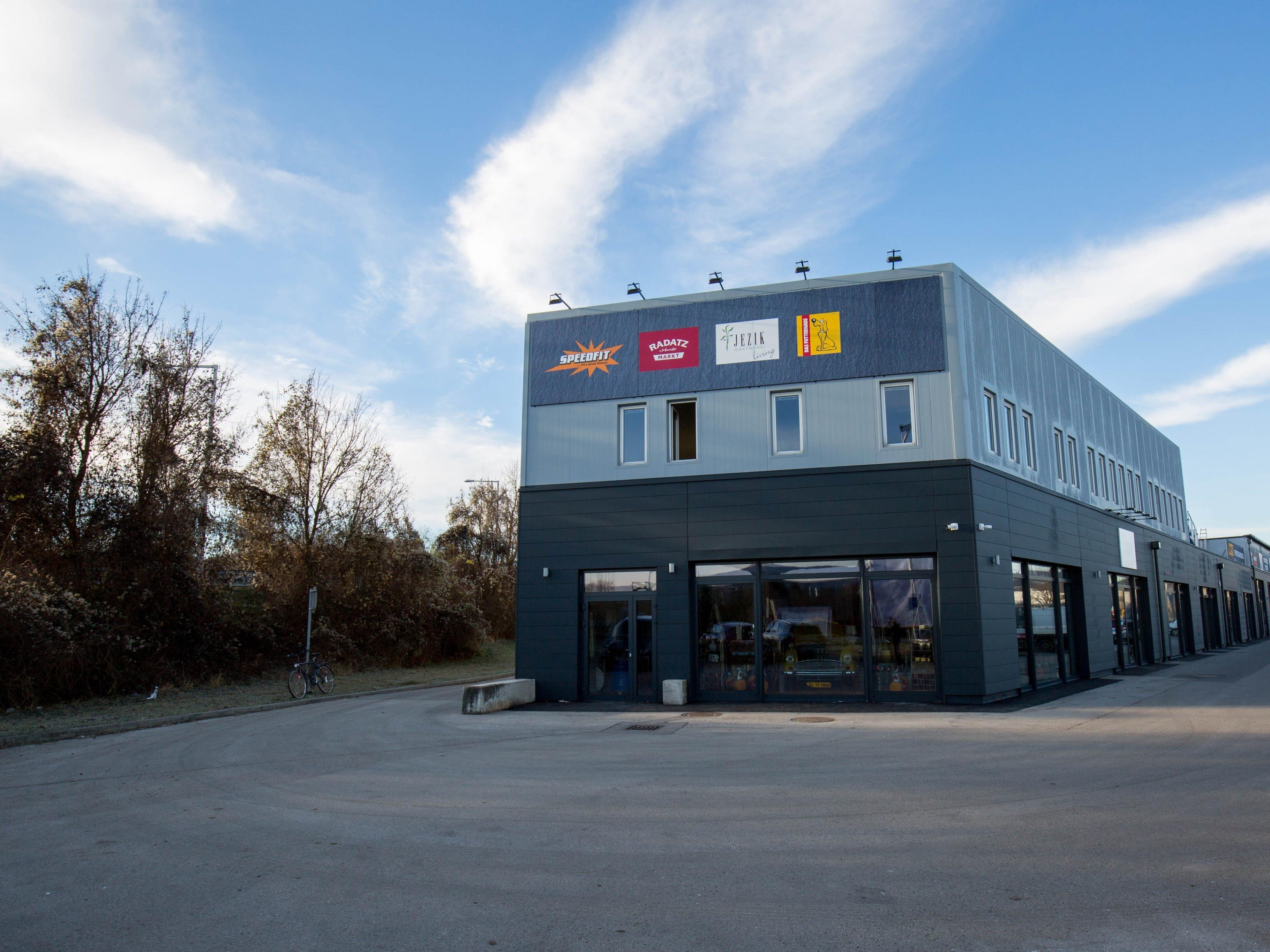 Die Businessbase Westside in Wien-Auhof.