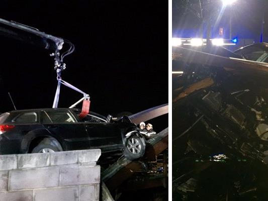 Der ungewöhnliche Unfall ereignete sich im 21. Bezirk.