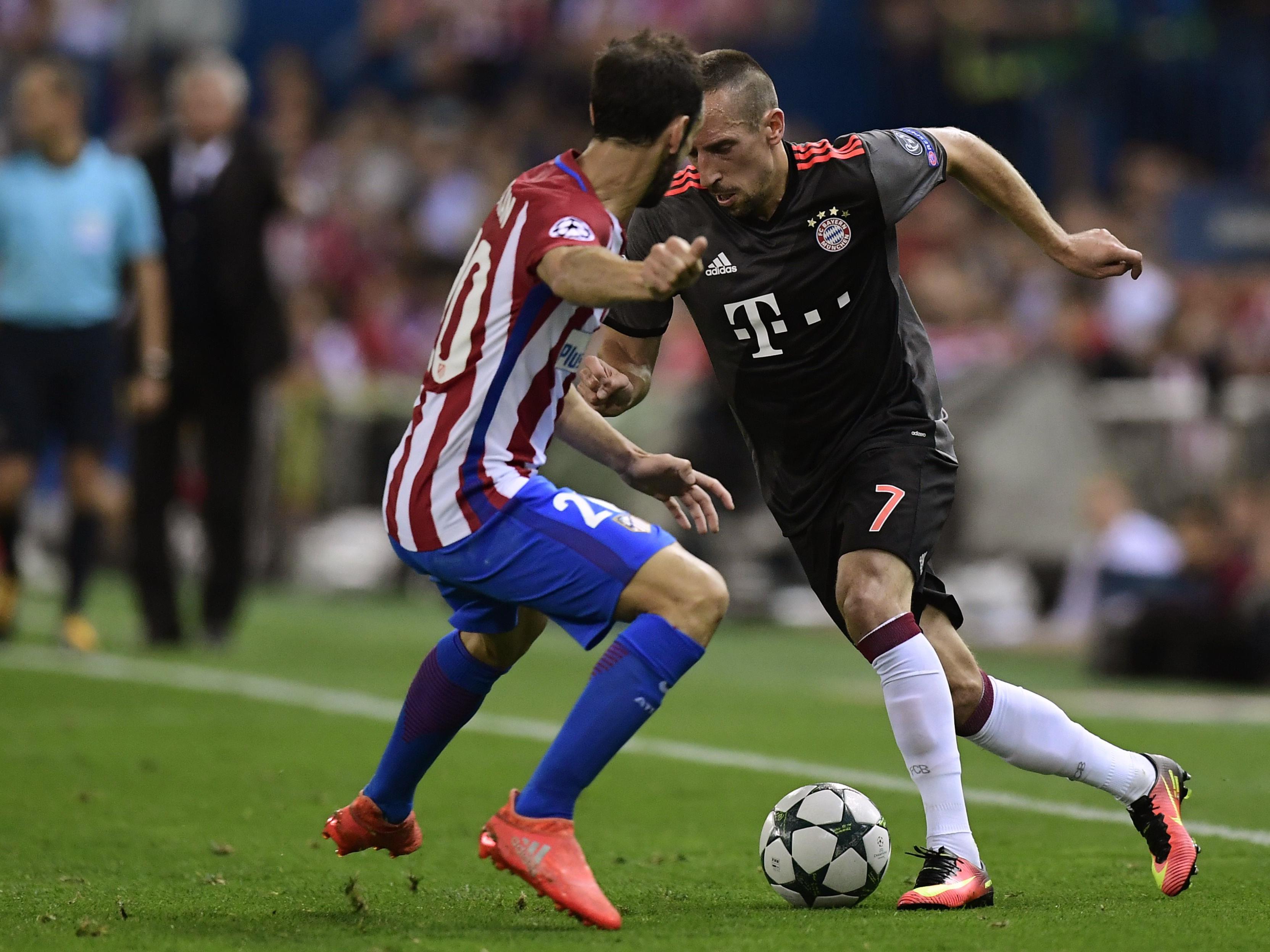 Bayern und Atlético treffen Dienstagabend in der Allianz-Arena aufeinander.