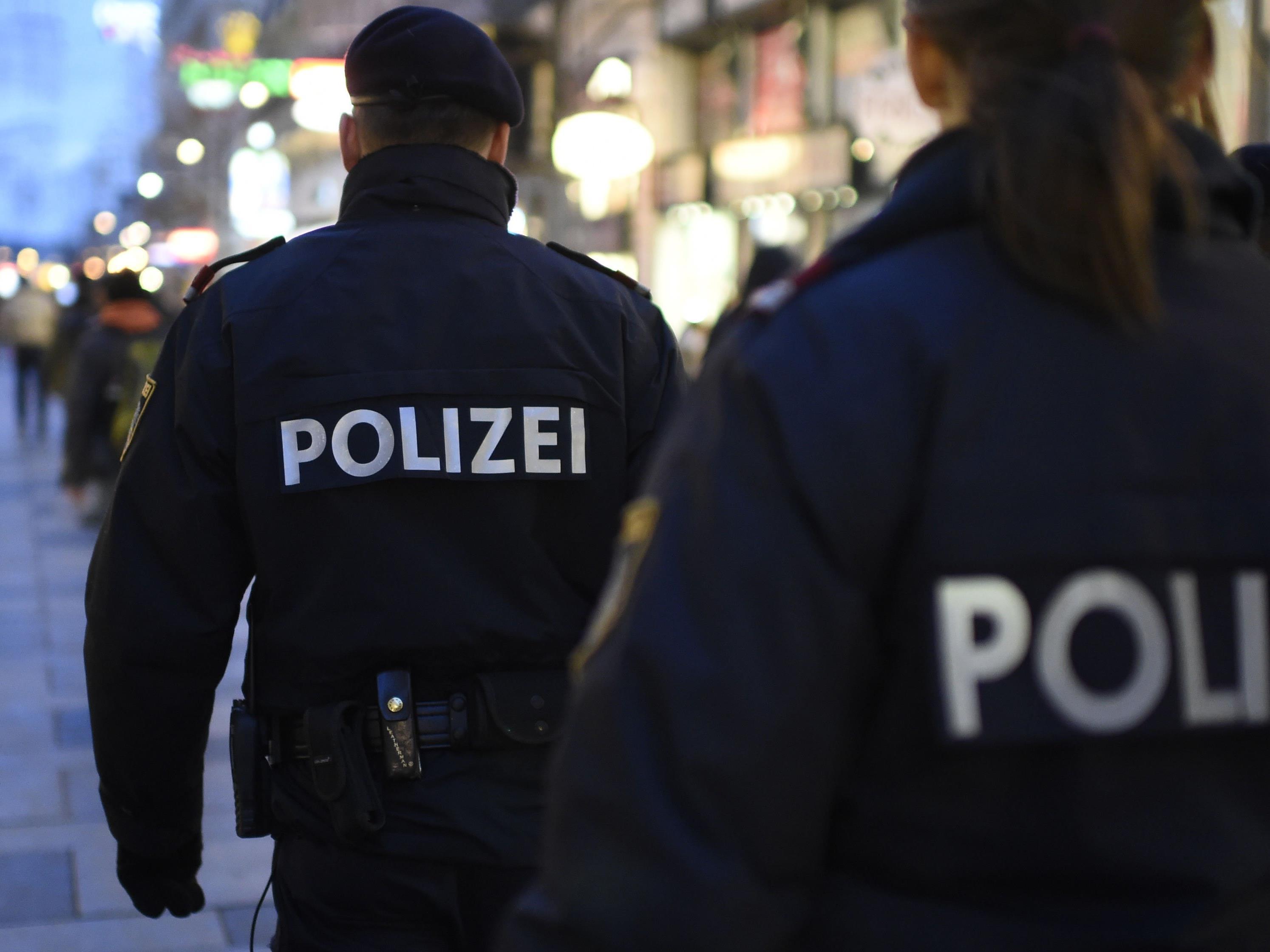Mehr Polizisten werden an neuralgischen Punkten in Wien im Einsatz sein
