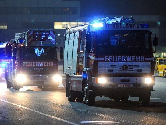 Großeinsatz der Feuerwehr in NÖ.
