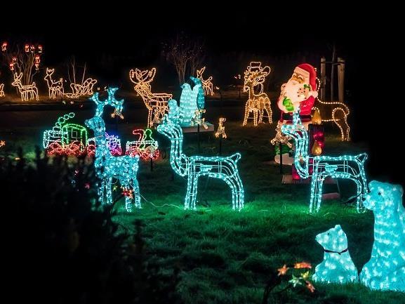 Woher kommt die Weihnachtsbeleuchtung?
