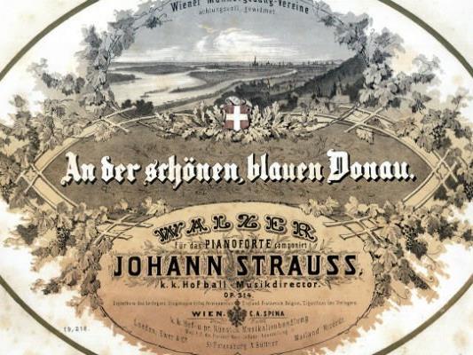 Der Donauwalzer feiert seinen 150. Geburtstag.