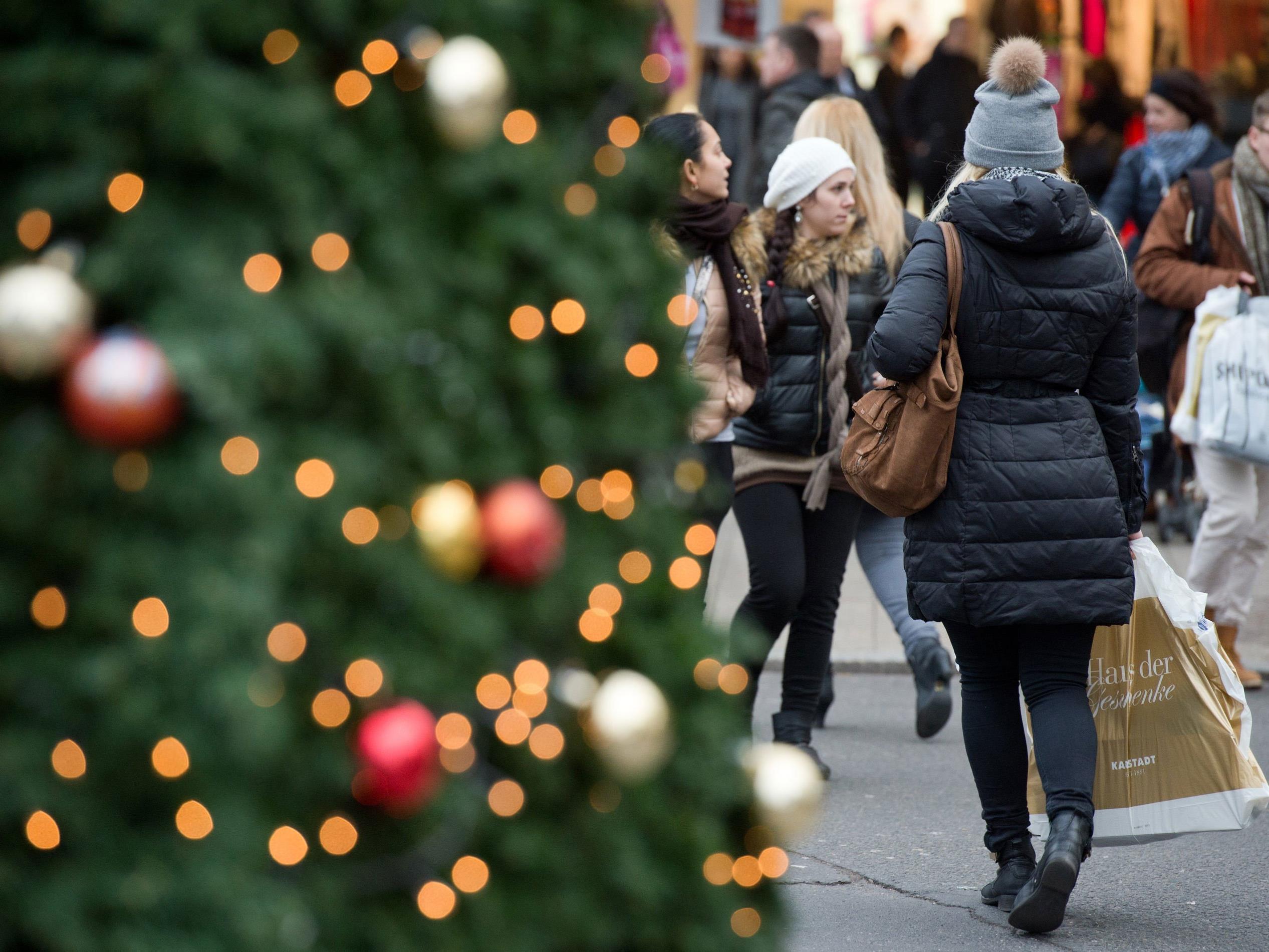 Wer am 24. Dezember einkaufen muss, hat in Wien noch bis zum Nachmittag die Möglichkeit