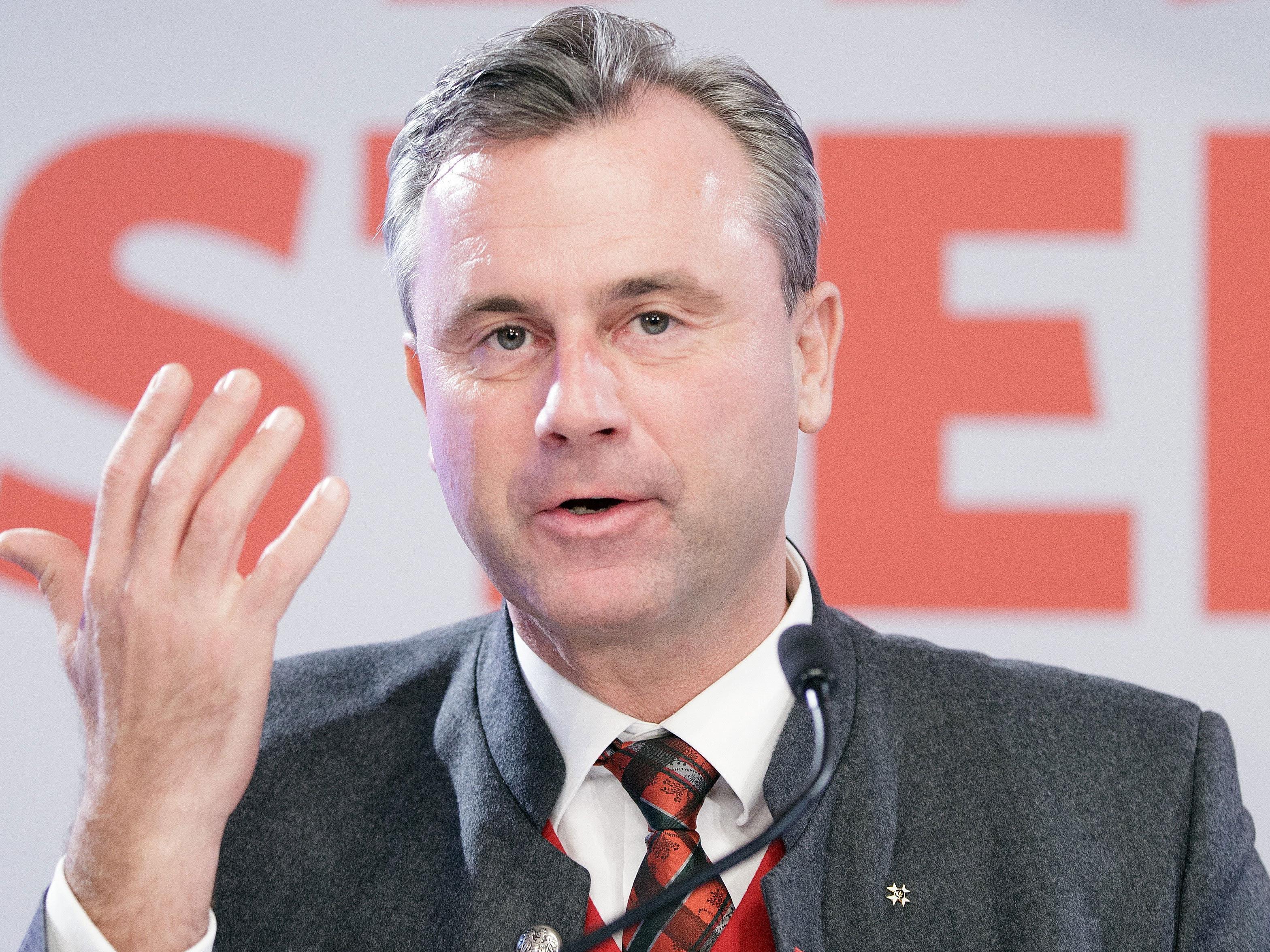 """""""Nach der Wahl ist vor der Wahl"""" meinte der Dritte Nationalratspräsident Norbert Hofer"""