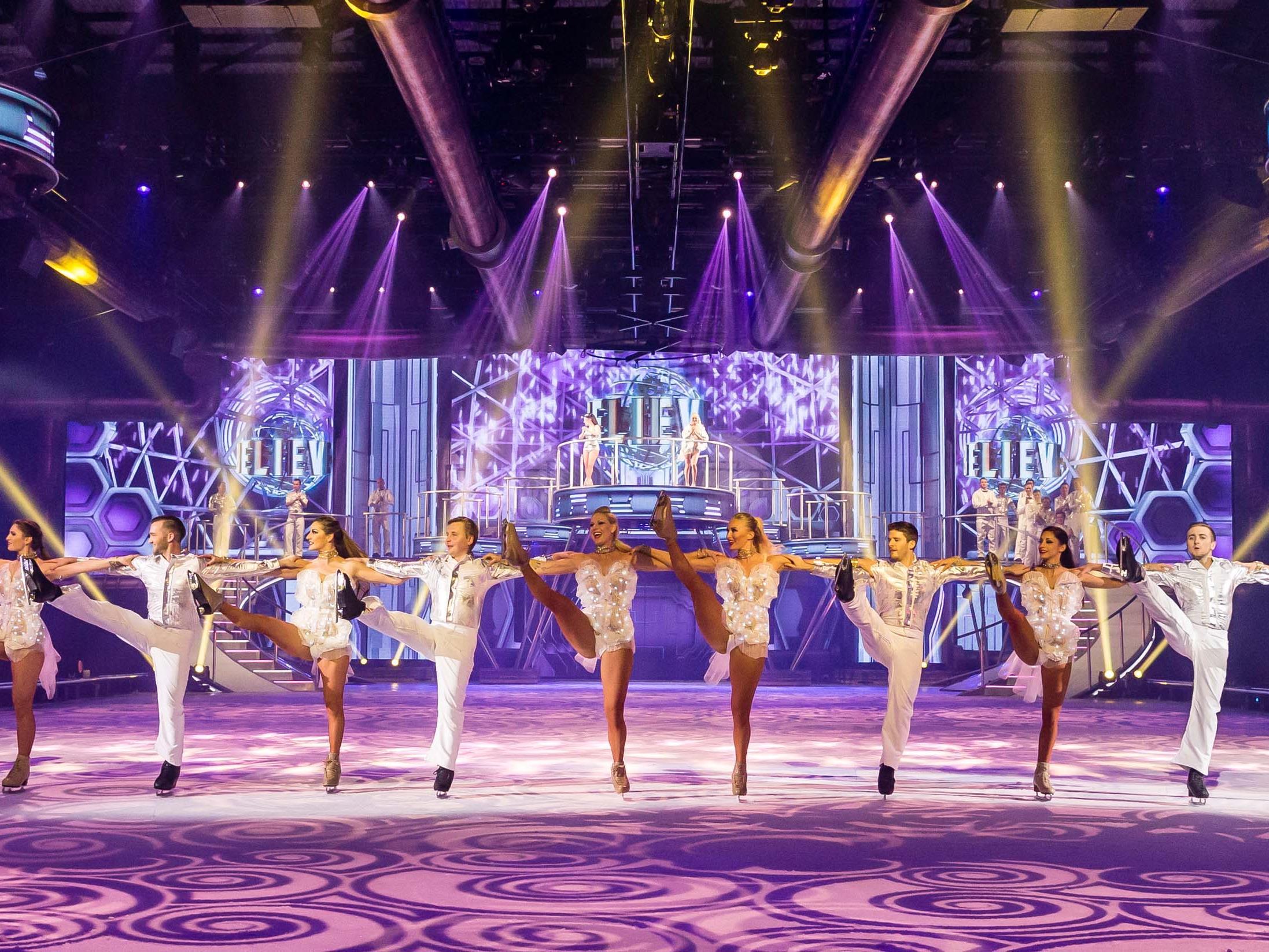 Wir verlosen 2x2 Premierenticktes für Holiday On Ice in der Wiener Stadthalle.