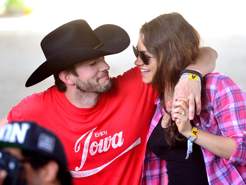 Traumpaar Ashton Kutcher und Mila Kunis