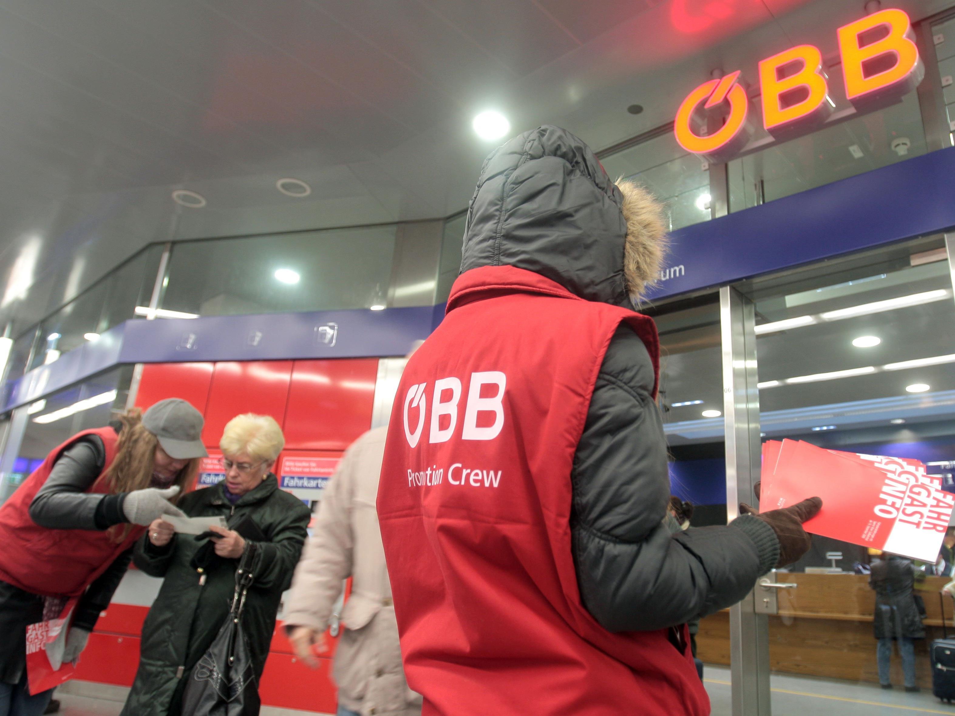 Neue Ausrüstung erhielten die ÖBB-Securitys