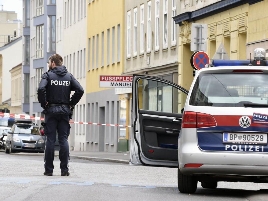 Großeinsatz der Polizei in Ottakring.