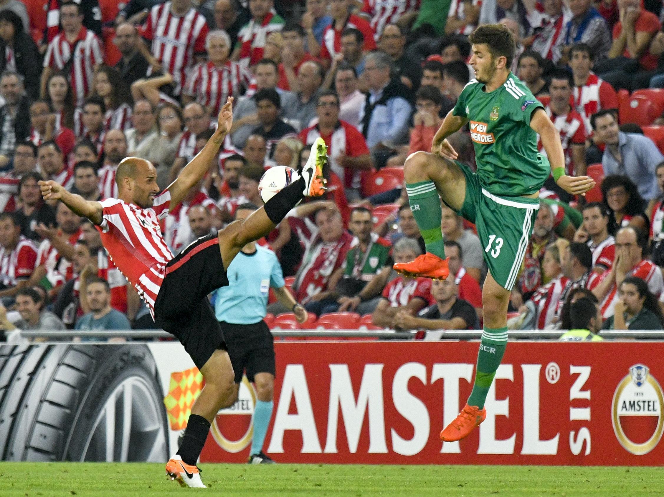 Rapid verabschiedet sich gegen Athletic Bilbao aus der Europa League.